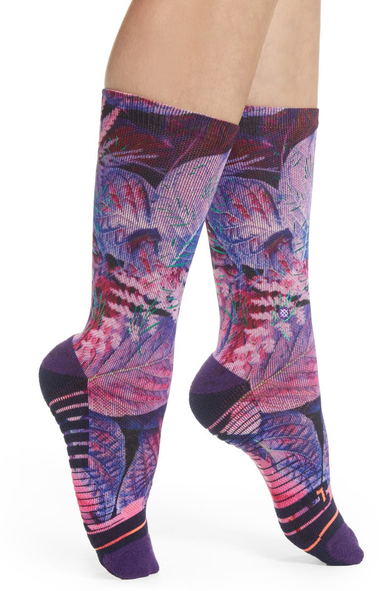 Stance Socks PALM CREW SOCKS