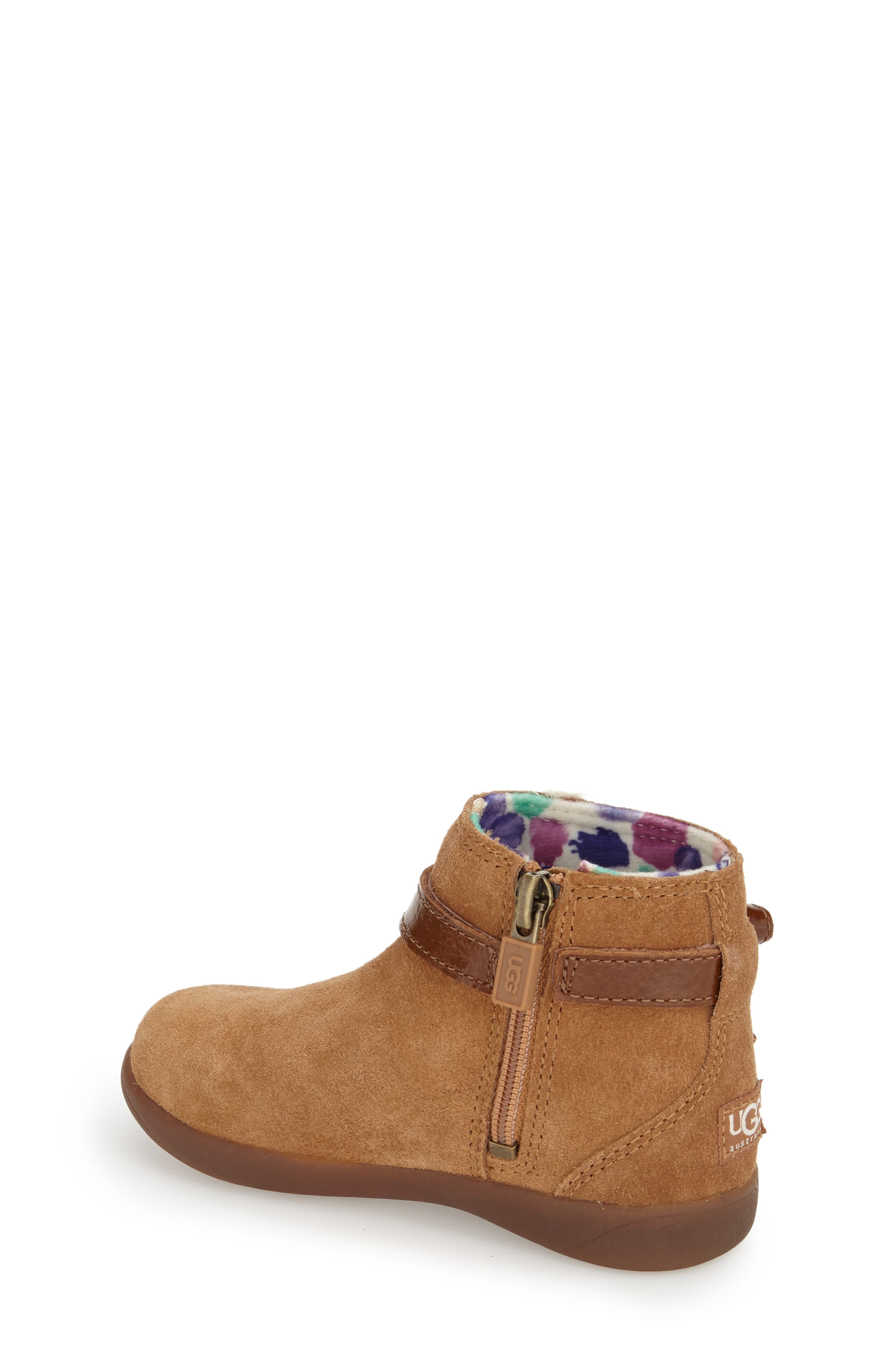 UGG<SUP>®</SUP>, Australia Libbie Boot, Alternate thumbnail 2, color, CHESTNUT BROWN