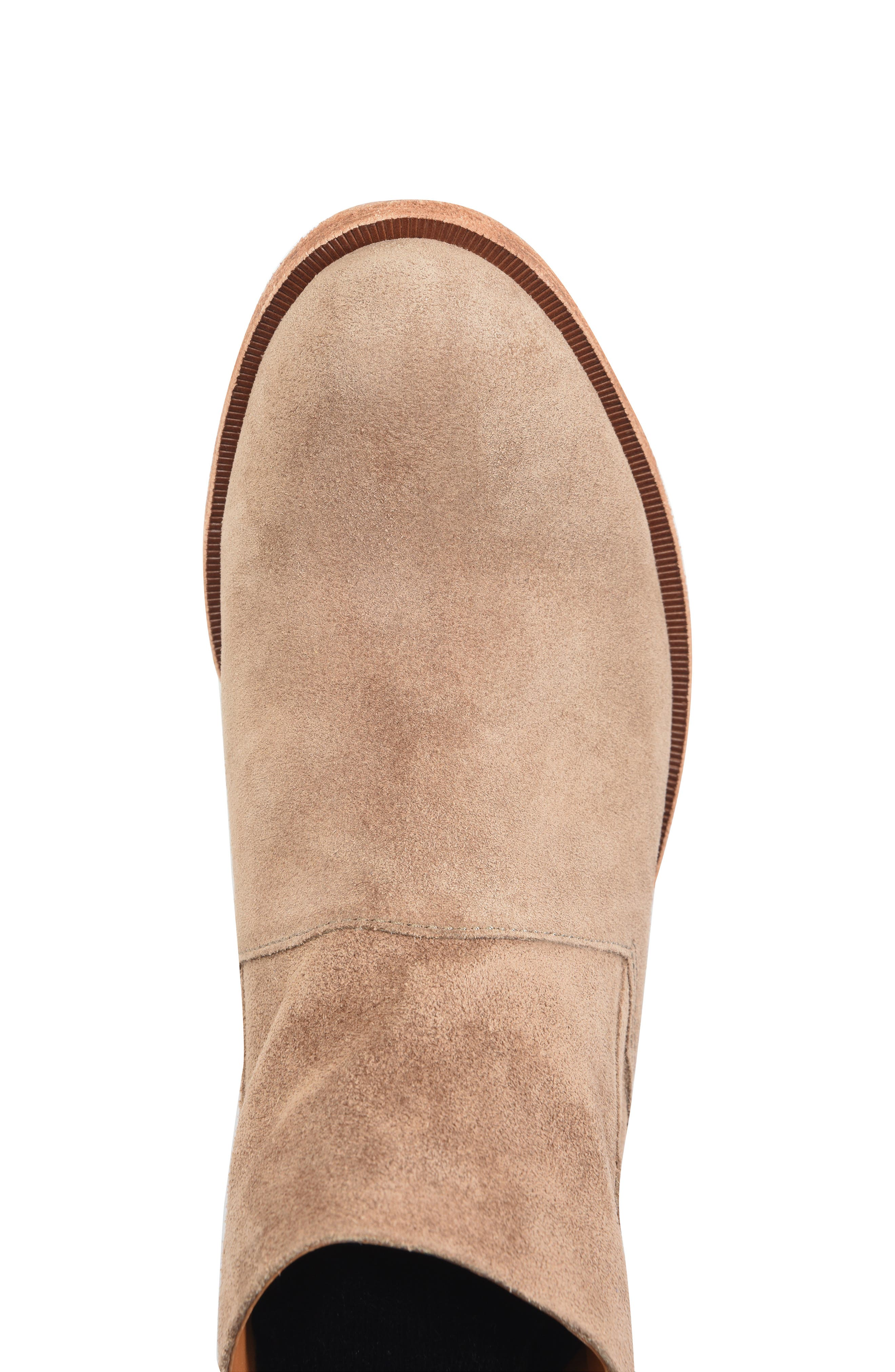 KORK-EASE<SUP>®</SUP>, Ryder Ankle Boot, Alternate thumbnail 5, color, TAUPE GREY SUEDE
