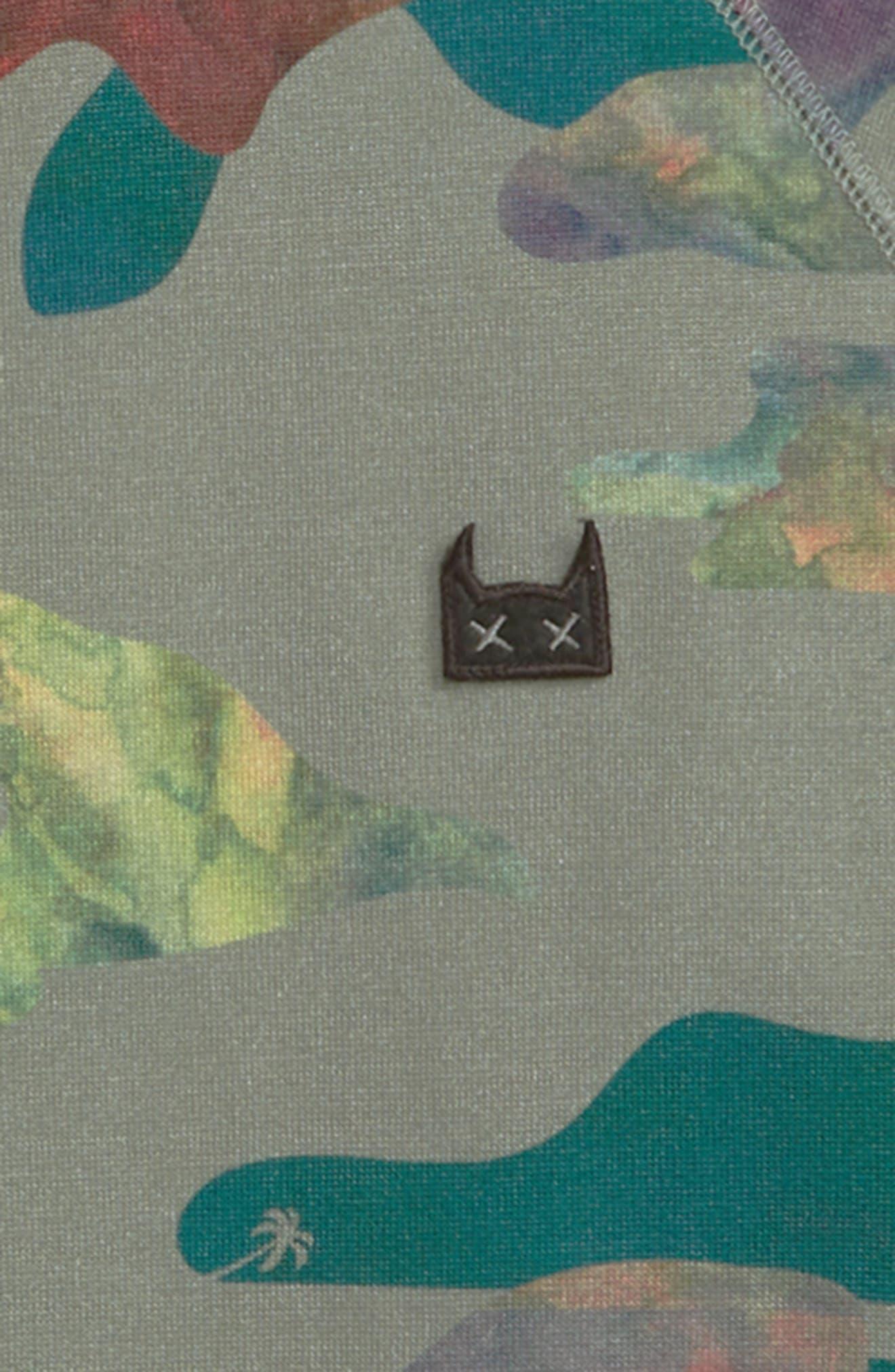 MUNSTERKIDS, Liquid Camo Sweatshirt, Alternate thumbnail 2, color, CAMO