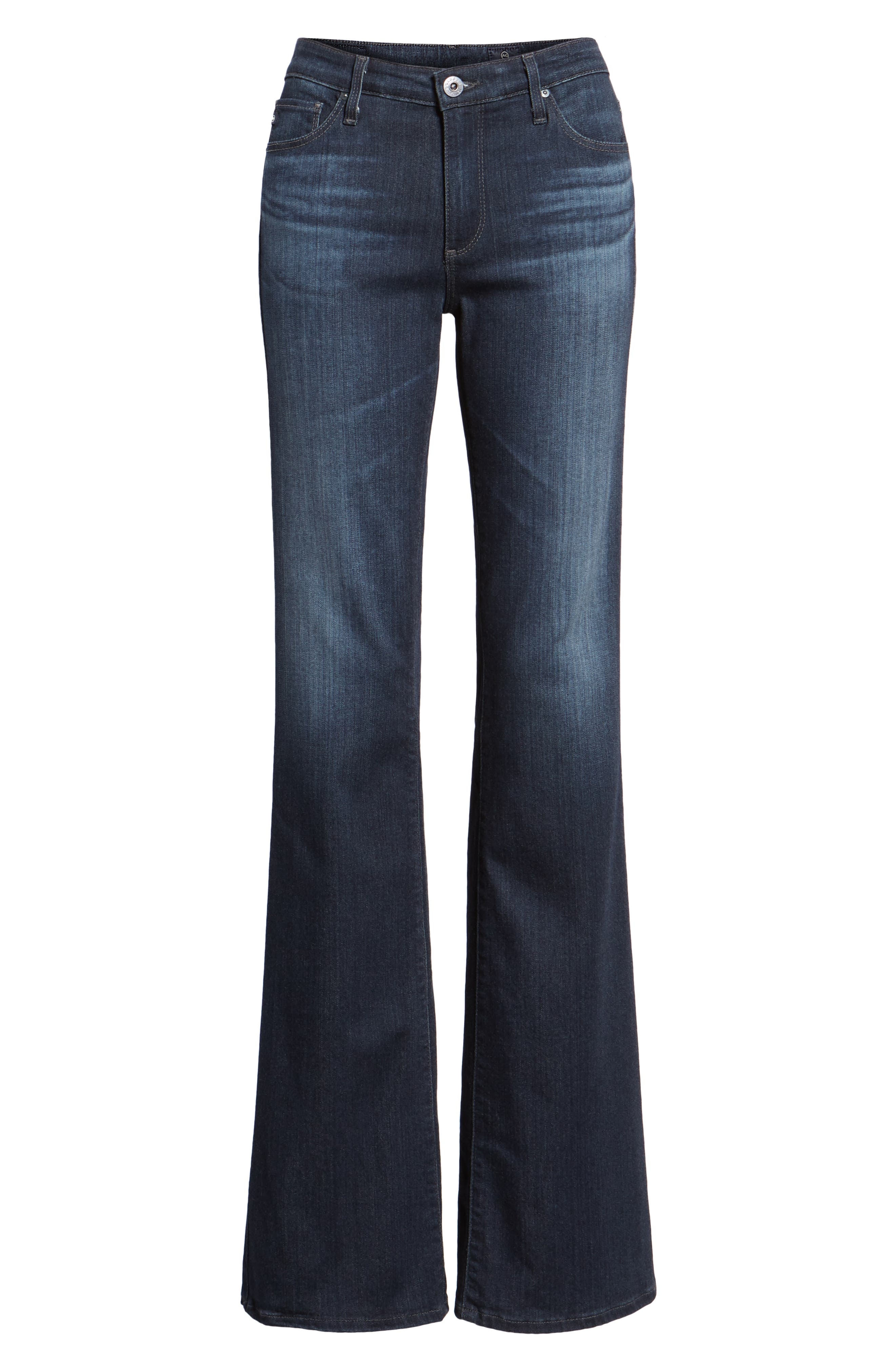 AG, 'The New Angel' Bootcut Jeans, Alternate thumbnail 7, color, BROOKS