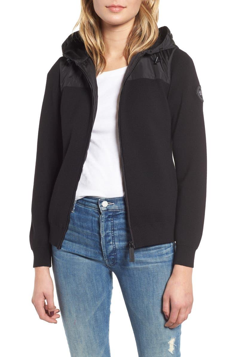 70c08a7d81f Canada Goose Windbridge Hooded Sweater Jacket