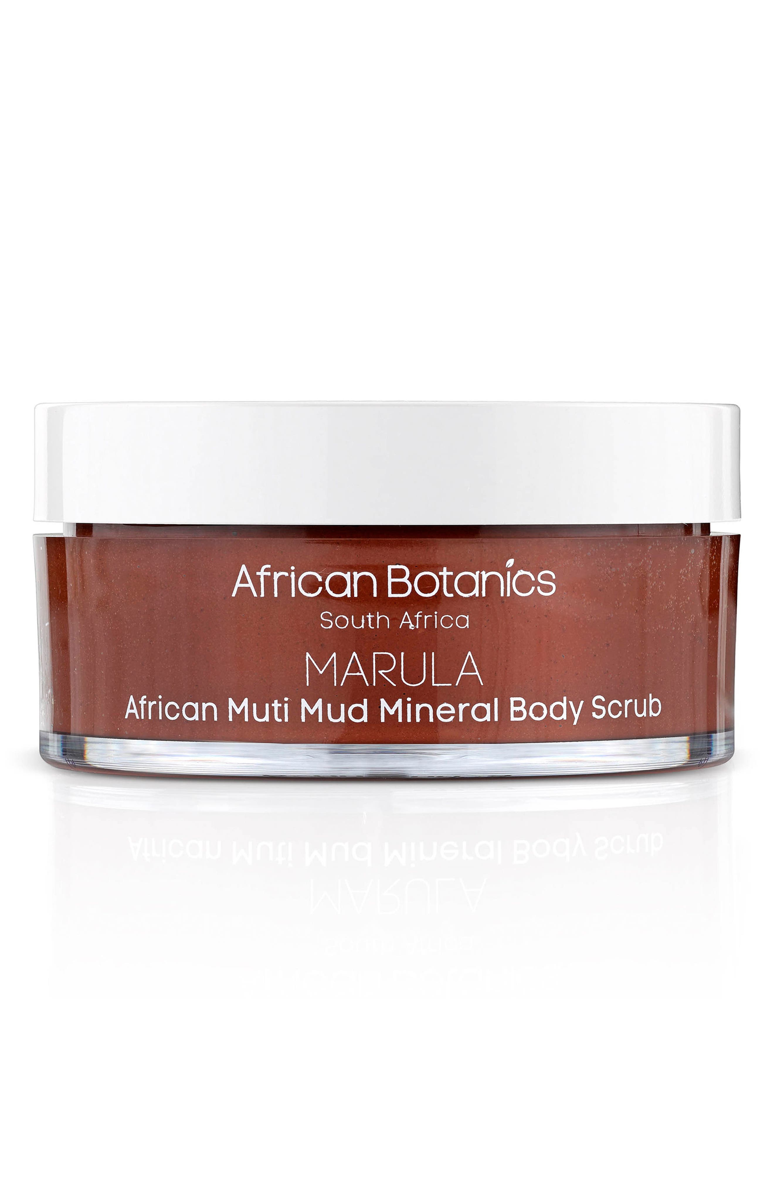 AFRICAN BOTANICS, African Muti Mud Mineral Body Scrub, Main thumbnail 1, color, NO COLOR