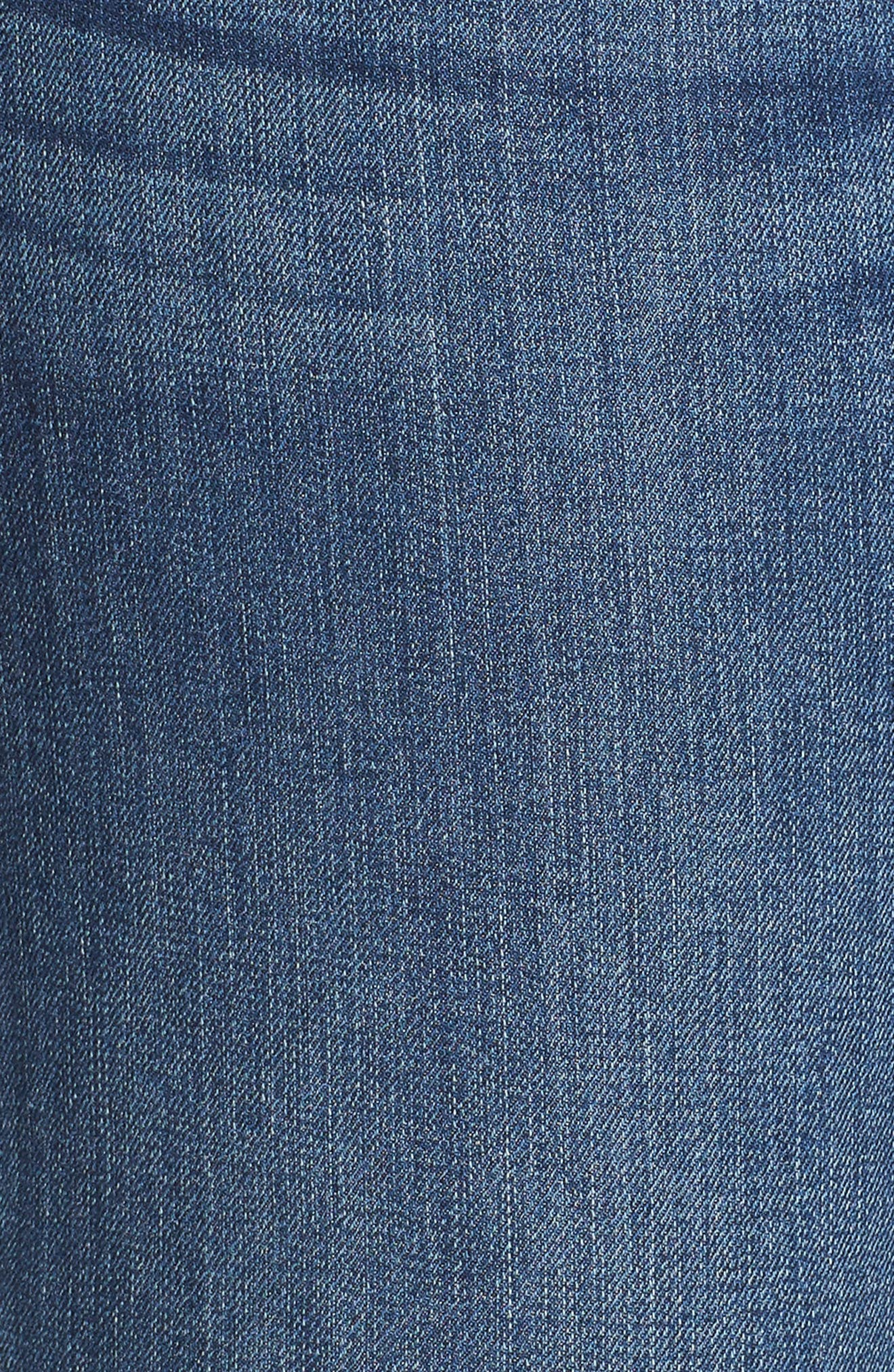 SEVEN7, Mid Rise Micro Bootcut Jeans, Alternate thumbnail 6, color, GENERATION