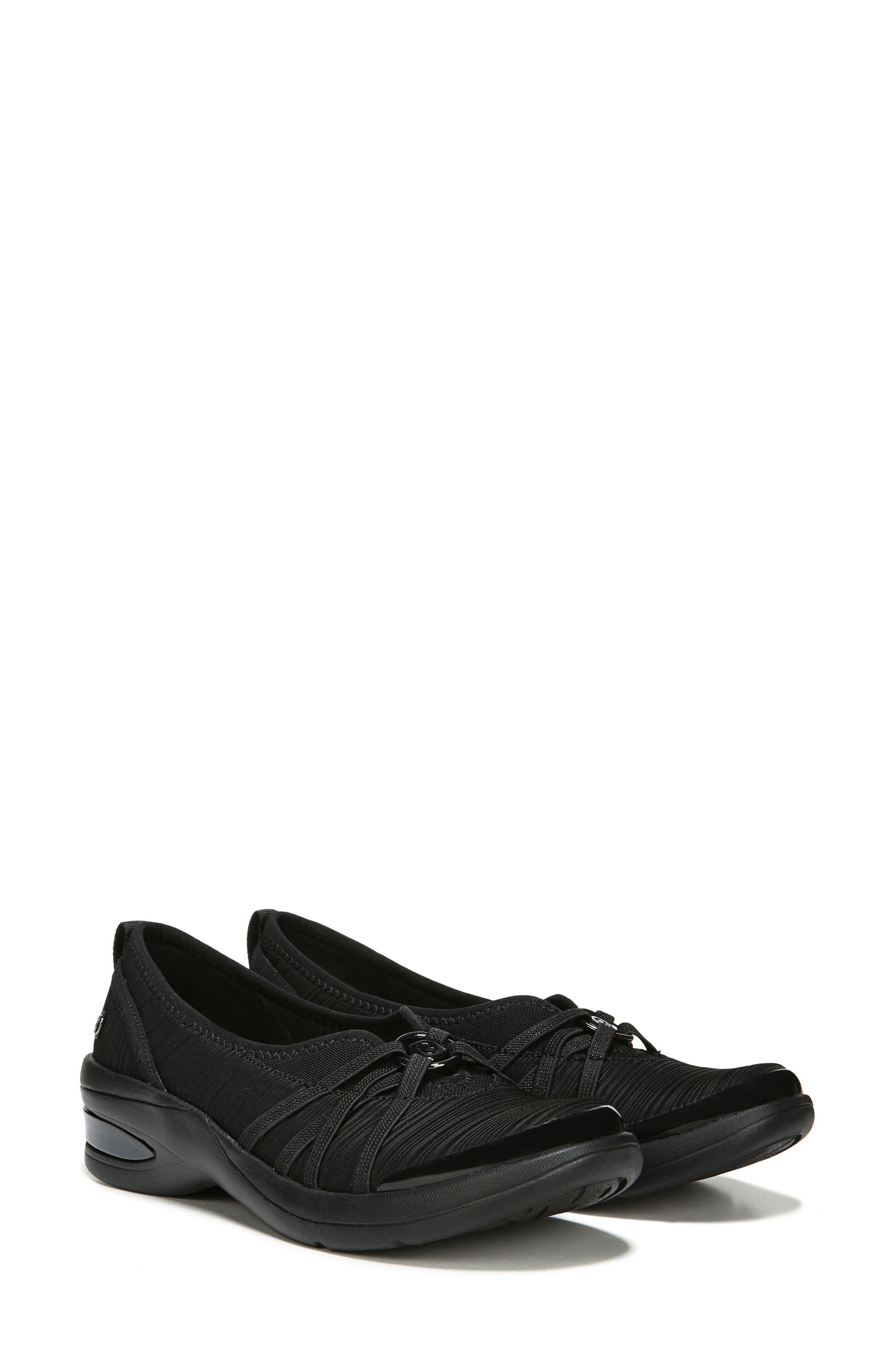 BZEES, Rosie Sneaker, Alternate thumbnail 6, color, BLACK GRADIENT FABRIC