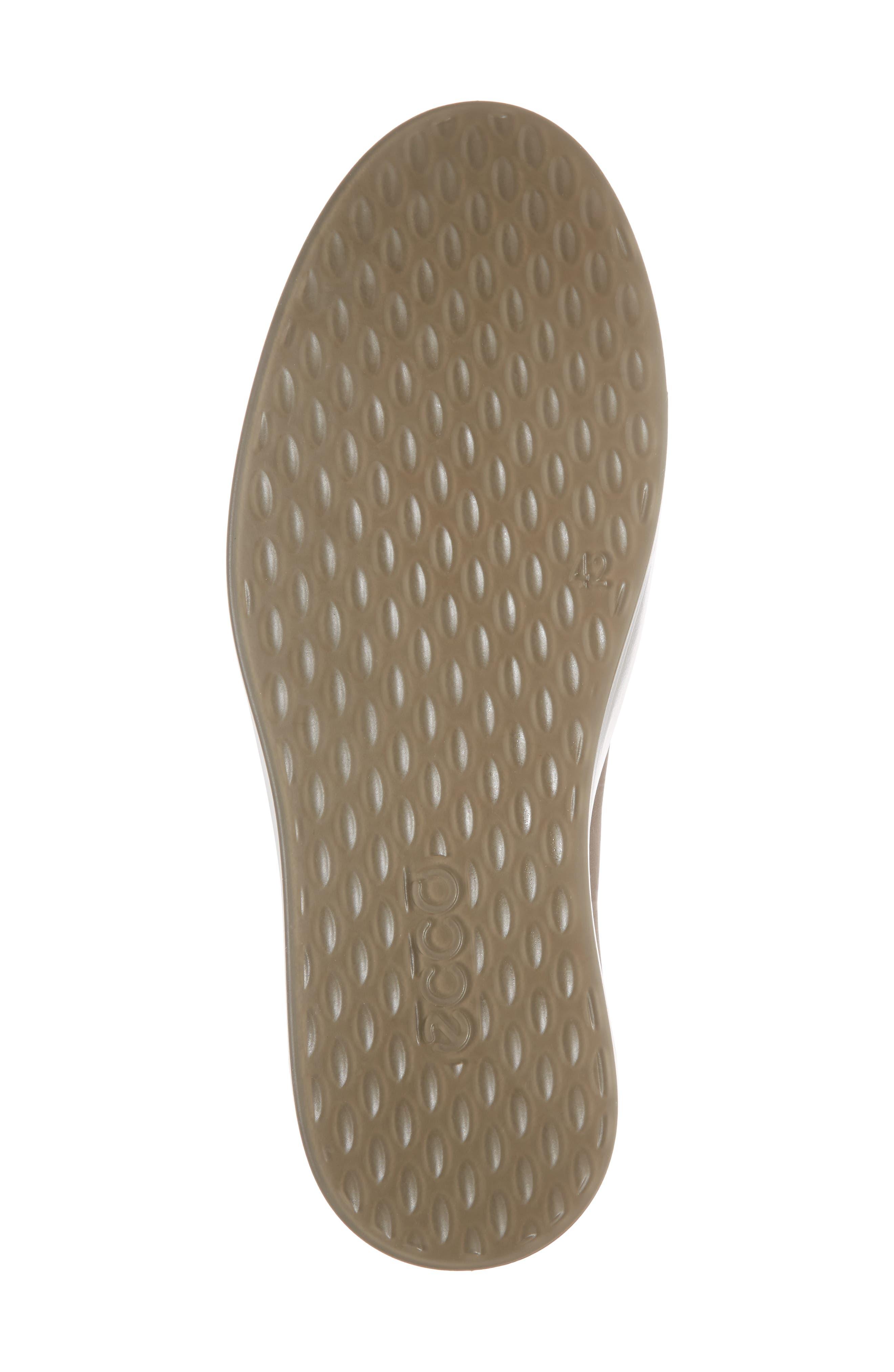 ECCO, Soft 8 Sneaker, Alternate thumbnail 6, color, MOONROCK