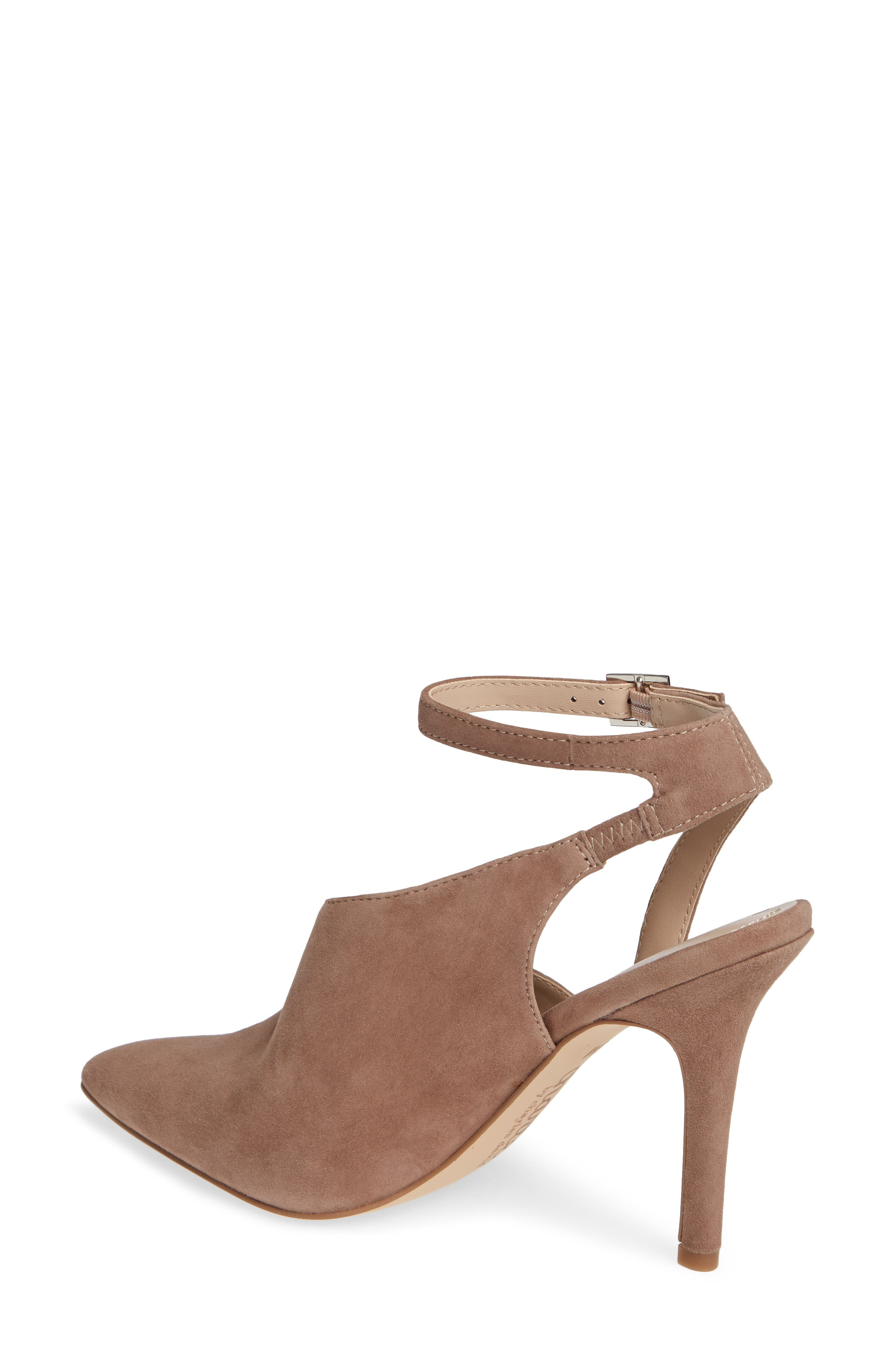 CHARLES BY CHARLES DAVID, Mieko Pump, Alternate thumbnail 2, color, TAUPE SUEDE
