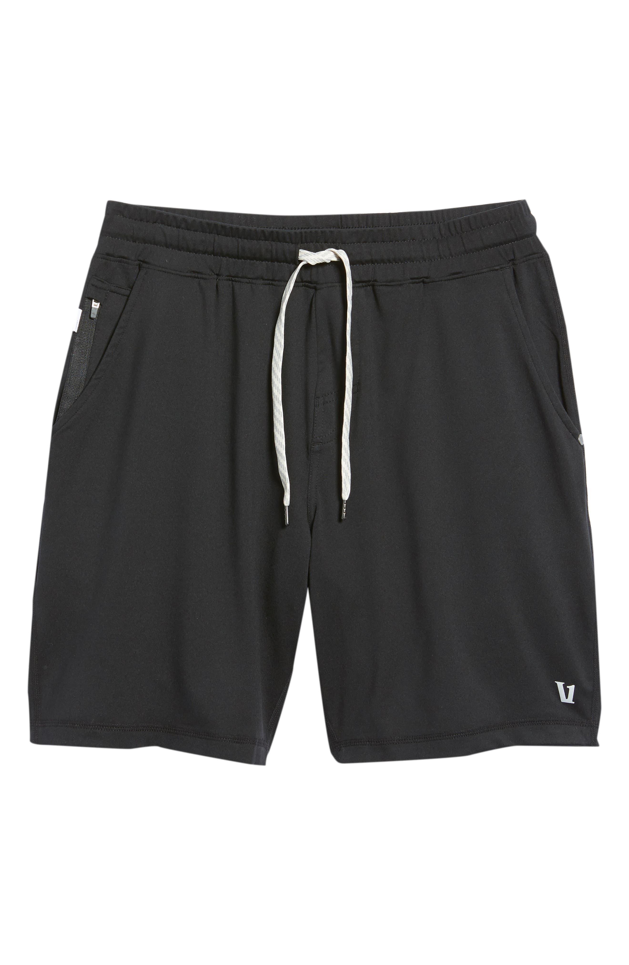 VUORI, Ponto Shorts, Alternate thumbnail 6, color, BLACK