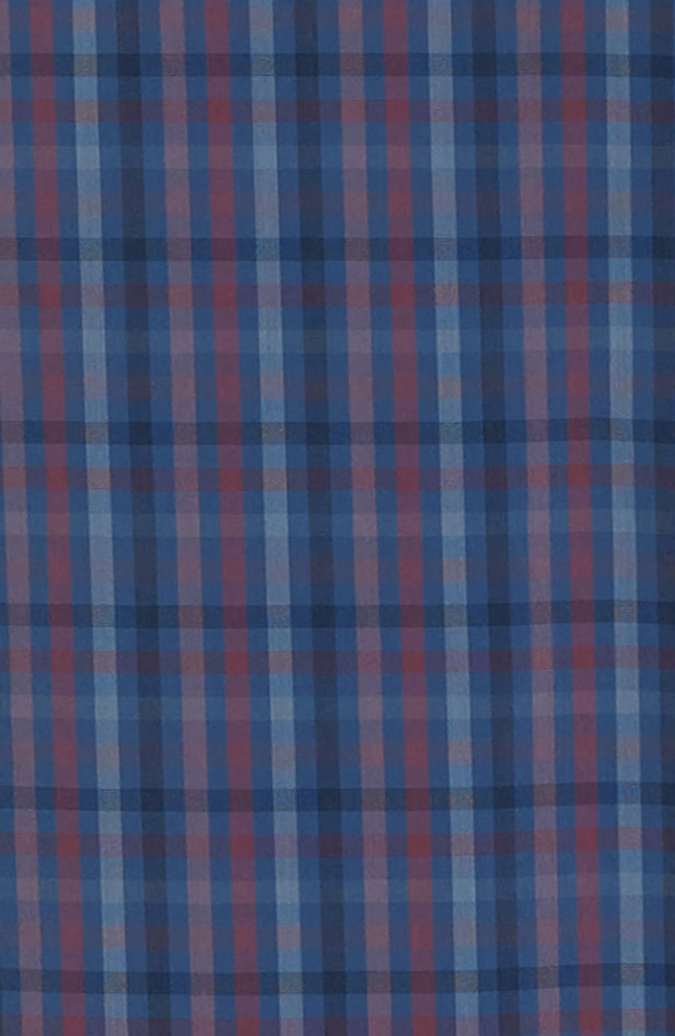 ZACHARY PRELL, Guastella Regular Fit Sport Shirt, Alternate thumbnail 6, color, AZURE