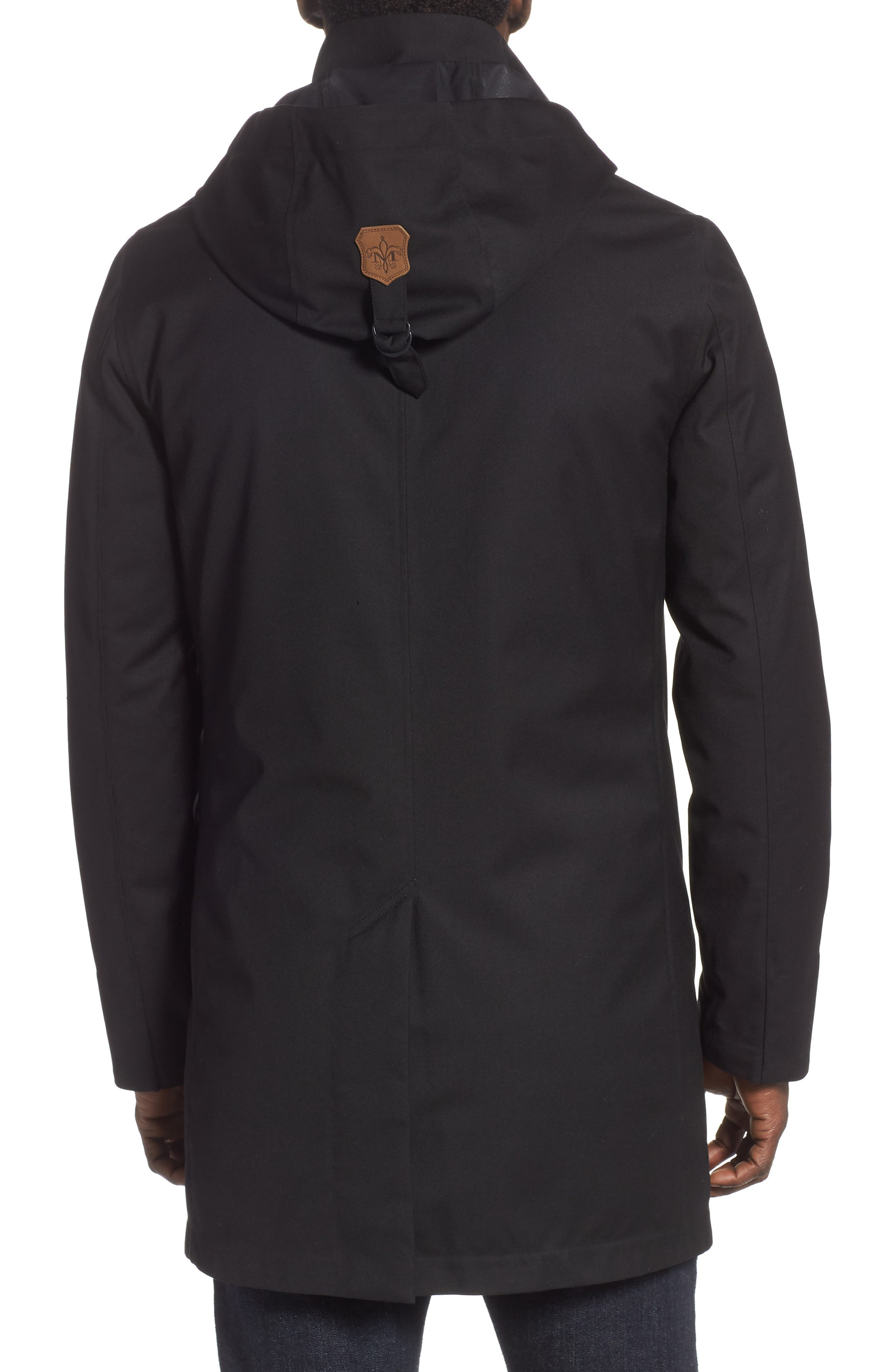 MACKAGE, Thorin-Z Jacket with Removable Down Lining, Alternate thumbnail 2, color, BLACK