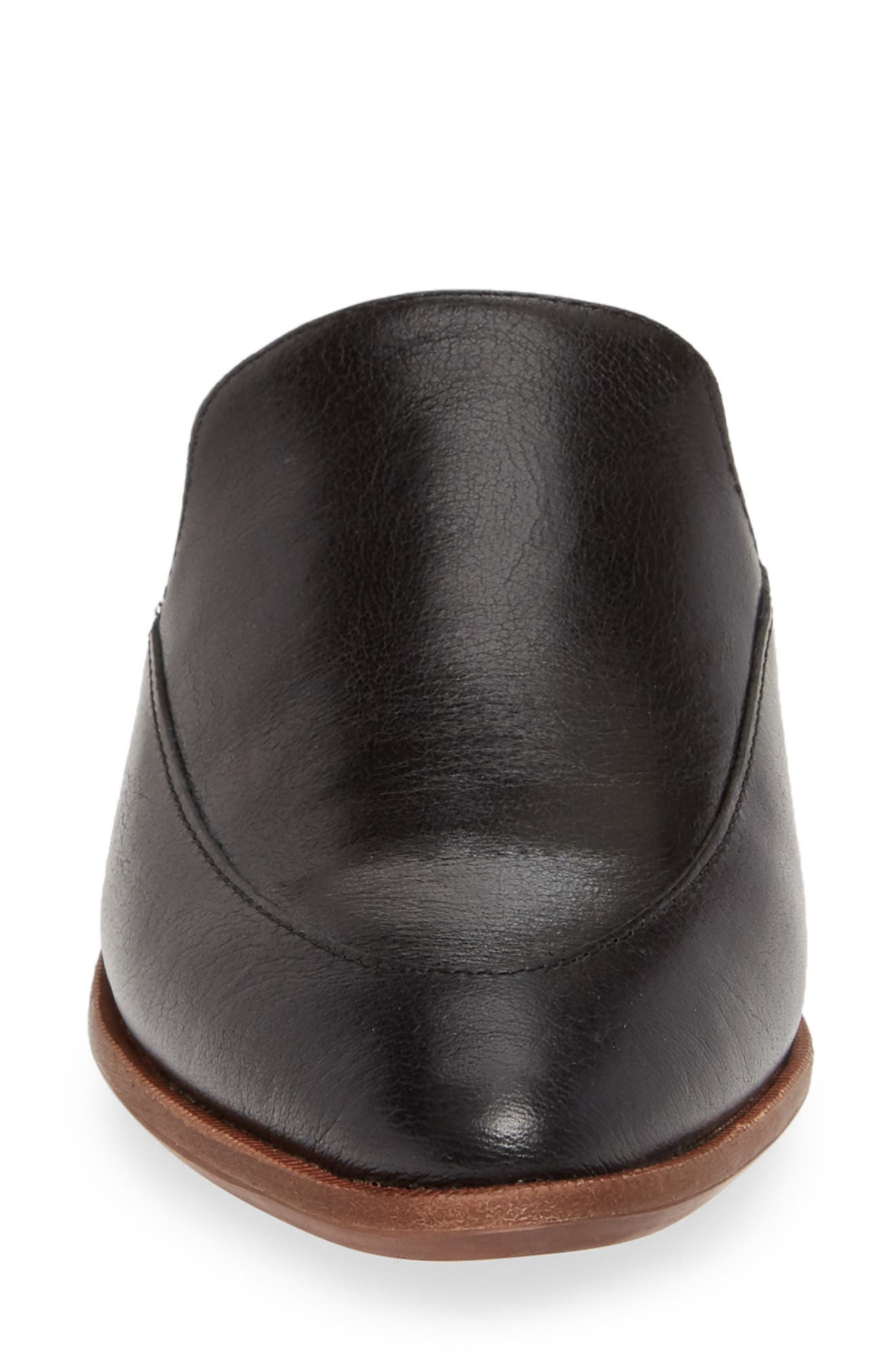 MADEWELL, The Frances Mule, Alternate thumbnail 5, color, TRUE BLACK