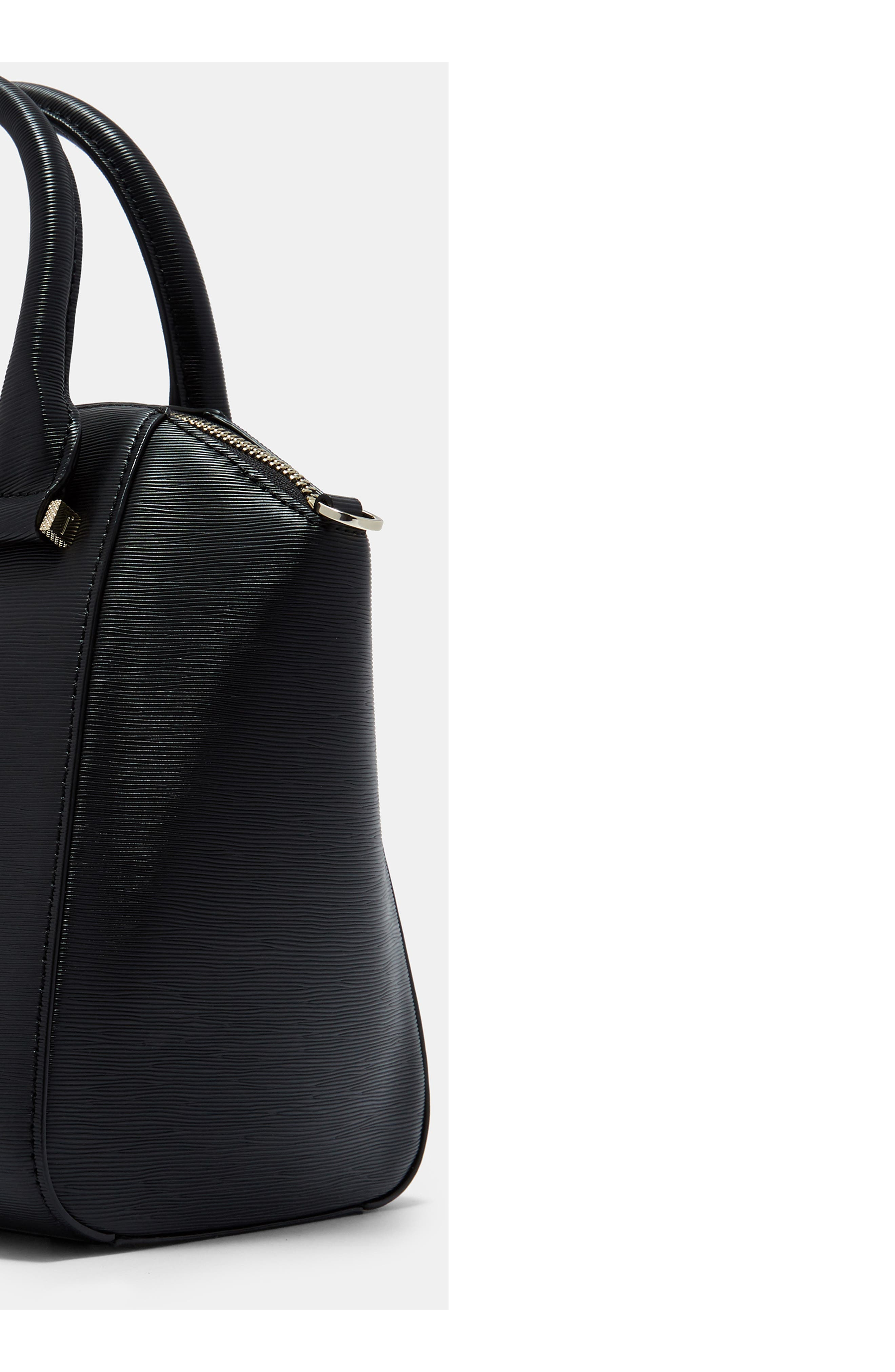 TED BAKER LONDON, Bow Tote, Alternate thumbnail 10, color, 001