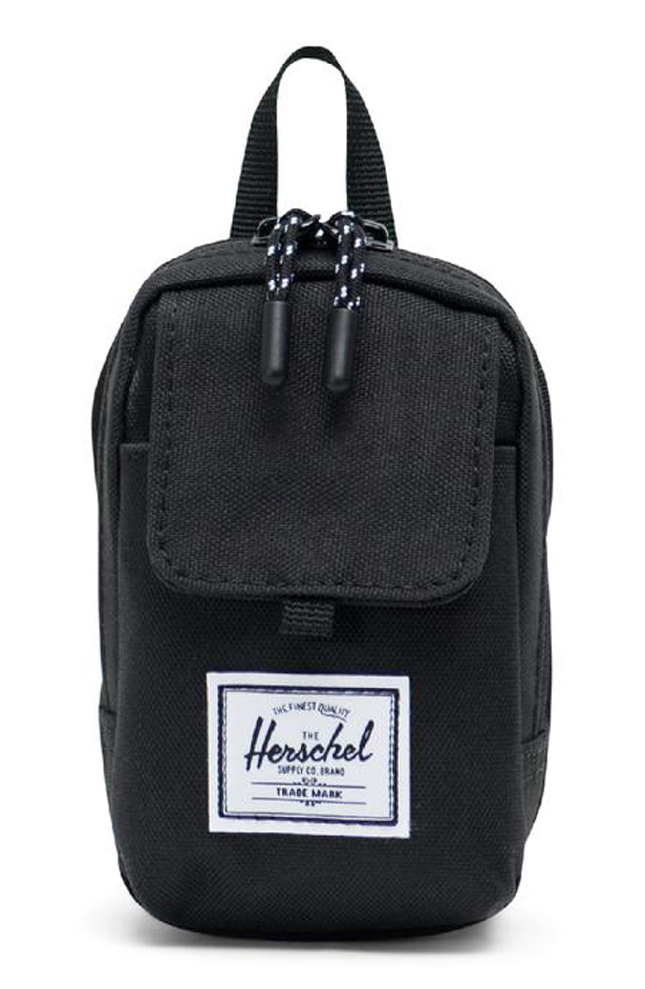 HERSCHEL SUPPLY CO. Small Form Shoulder Bag, Main, color, BLACK