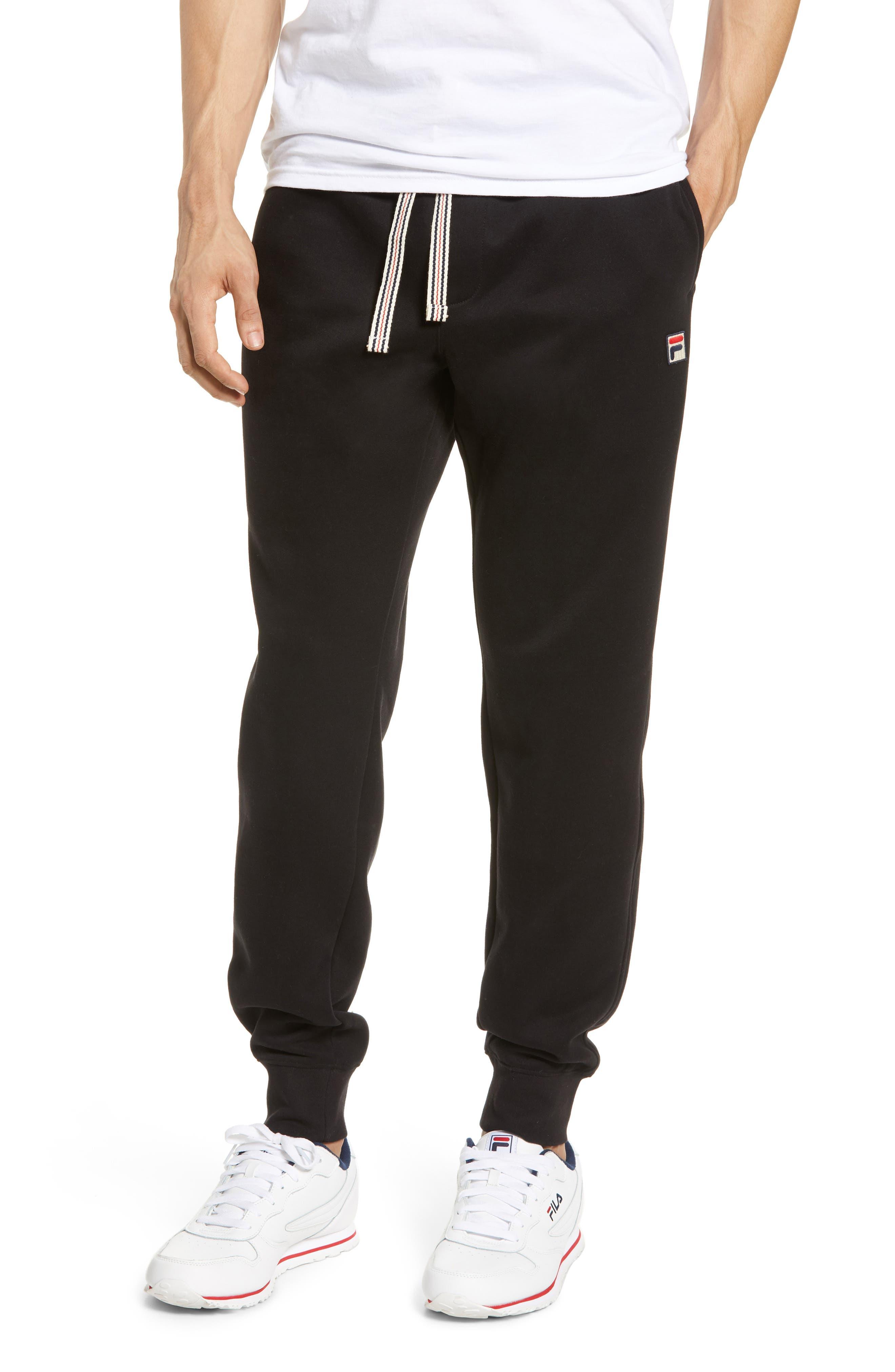 FILA Jogger Pants, Main, color, BLACK