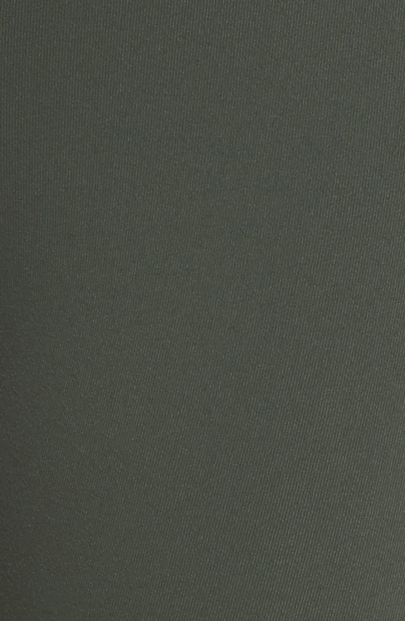 ALO, High Waist Airbrush Capris, Alternate thumbnail 6, color, 304