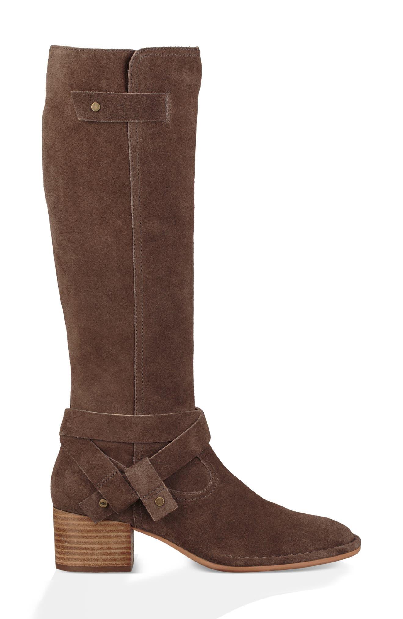 UGG<SUP>®</SUP>, Bandara Knee High Boot, Alternate thumbnail 3, color, 211