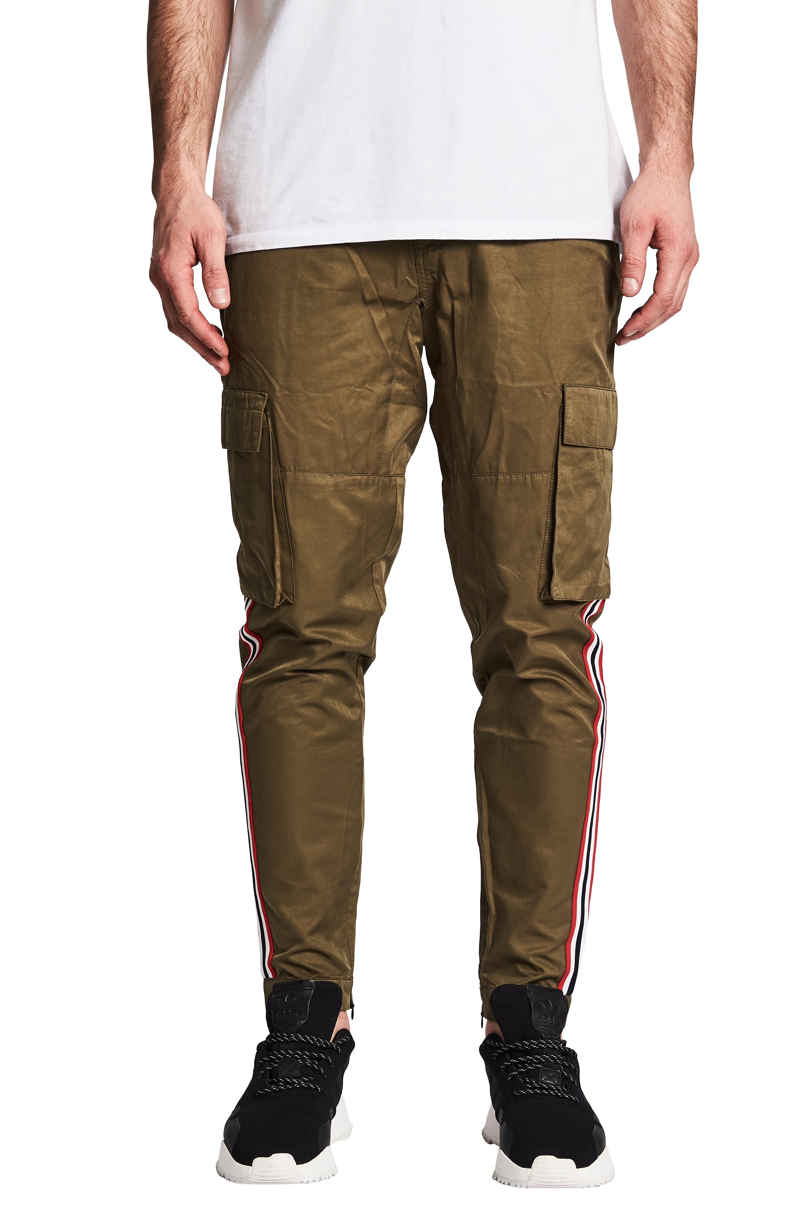 Nxp Viper Slim Fit Cargo Pants, Green