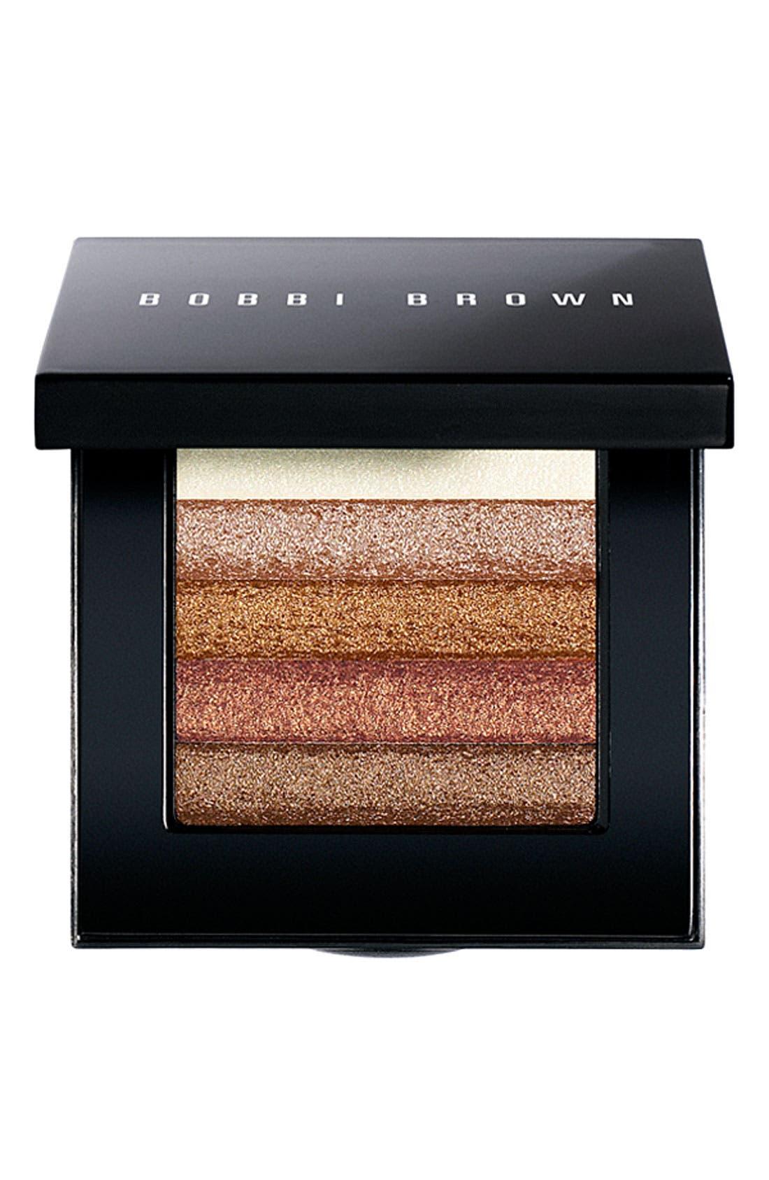 BOBBI BROWN, Bronze Shimmer Brick Compact, Main thumbnail 1, color, NO COLOR