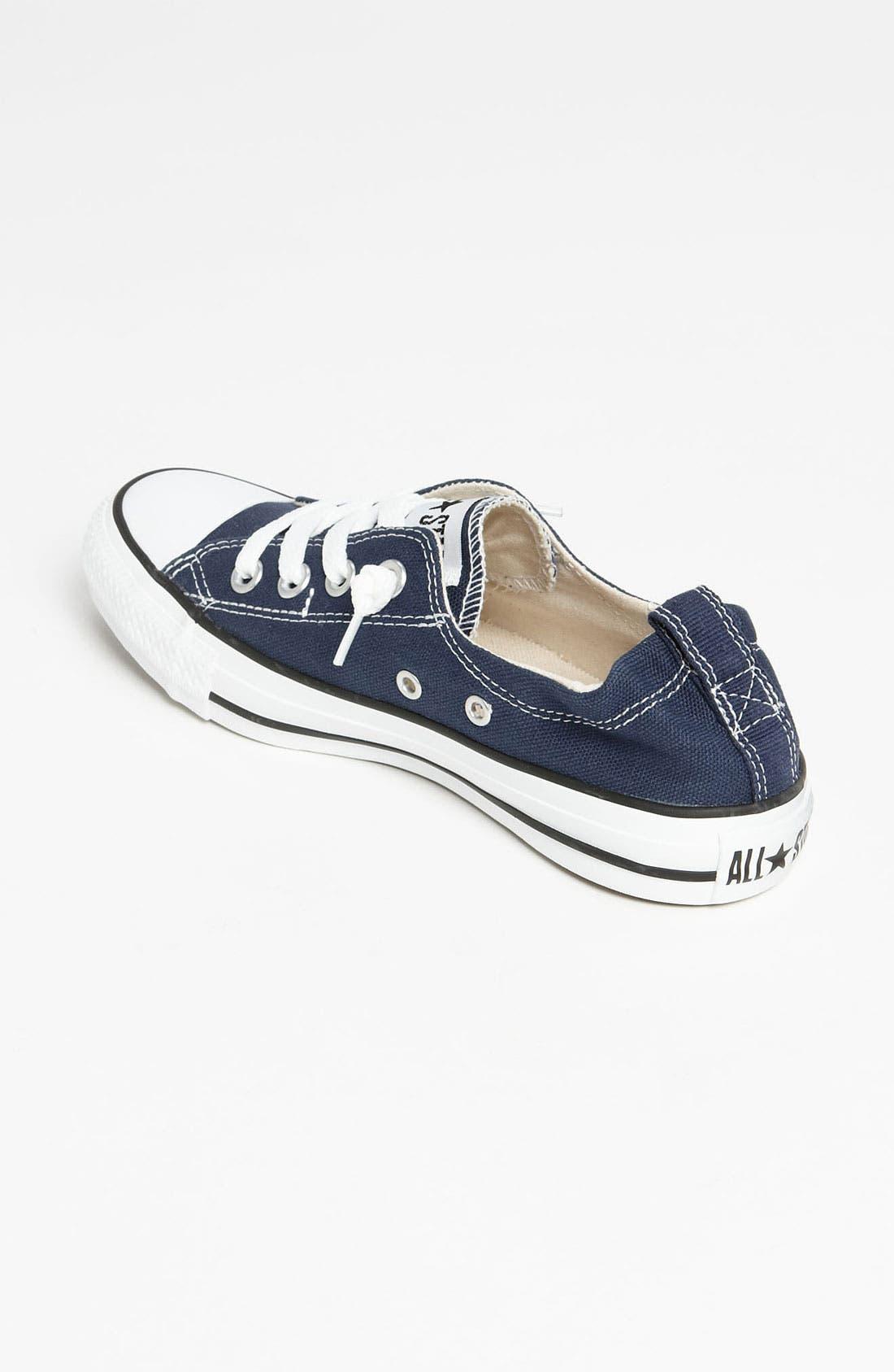 CONVERSE, Chuck Taylor<sup>®</sup> 'Shoreline' Sneaker, Alternate thumbnail 6, color, NAVY