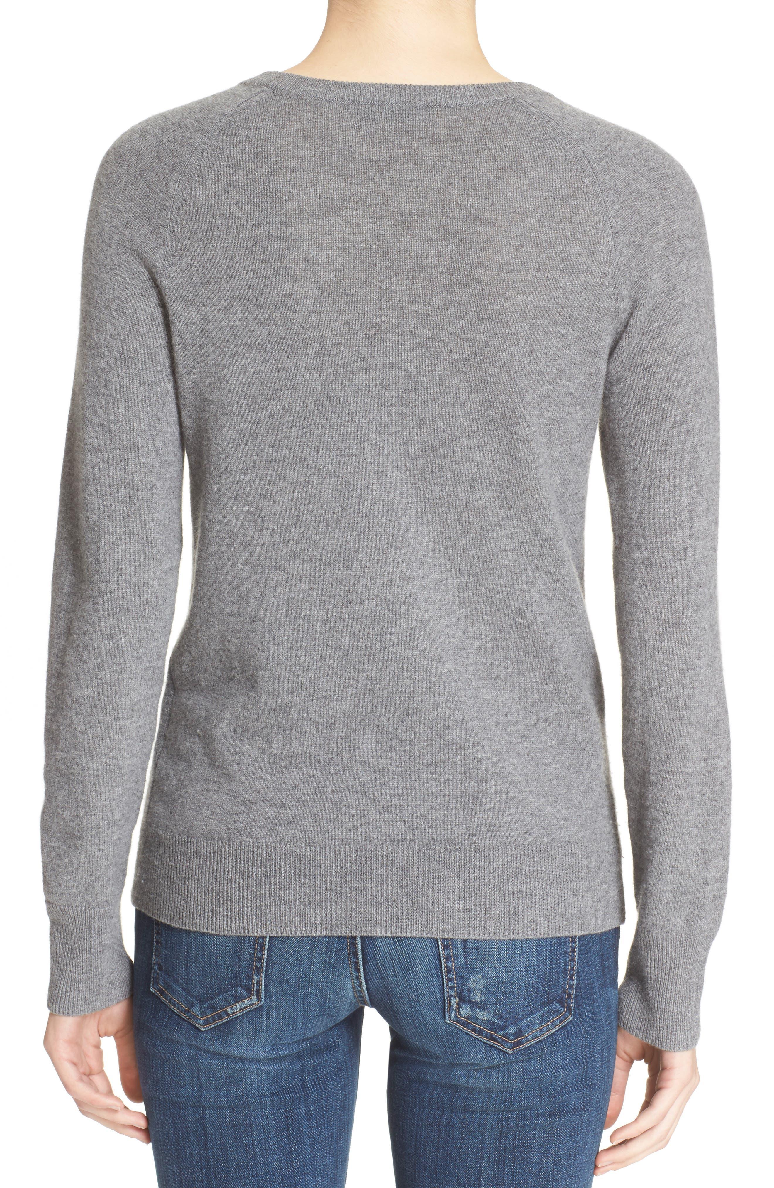 EQUIPMENT, 'Sloane' Crewneck Cashmere Sweater, Alternate thumbnail 2, color, 021