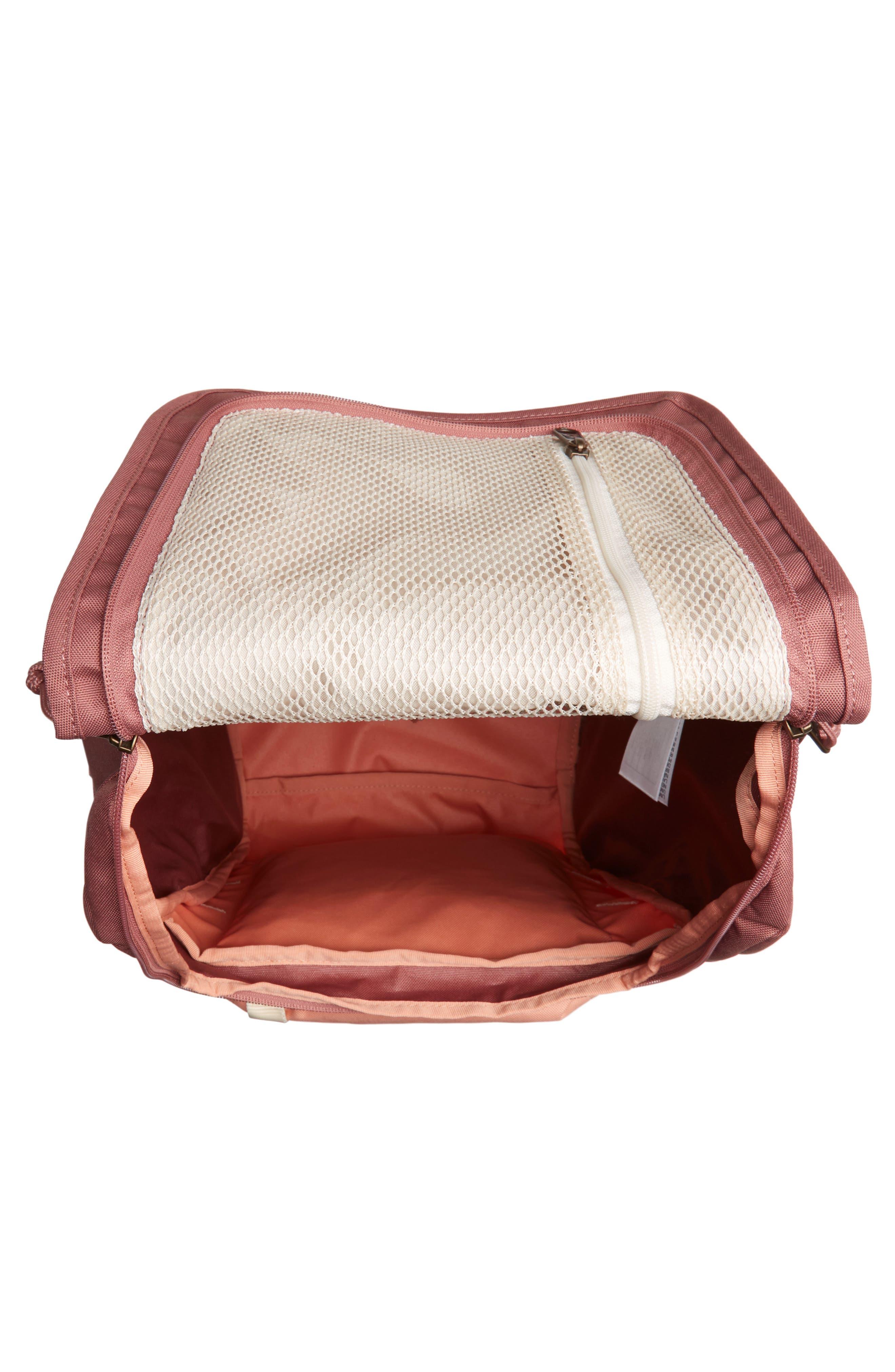 JANSPORT, Hatchet Backpack, Alternate thumbnail 5, color, MOCHA/ CLAY