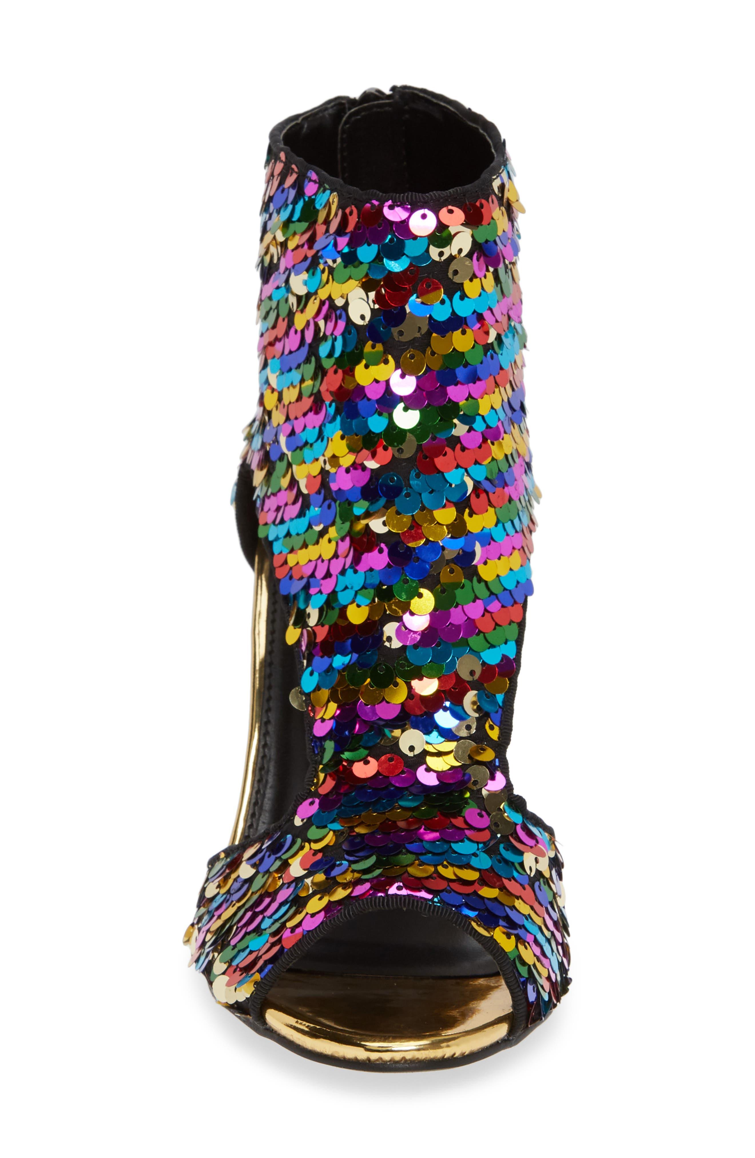 LAUREN LORRAINE, Roxy Sequin Sandal, Alternate thumbnail 5, color, 710