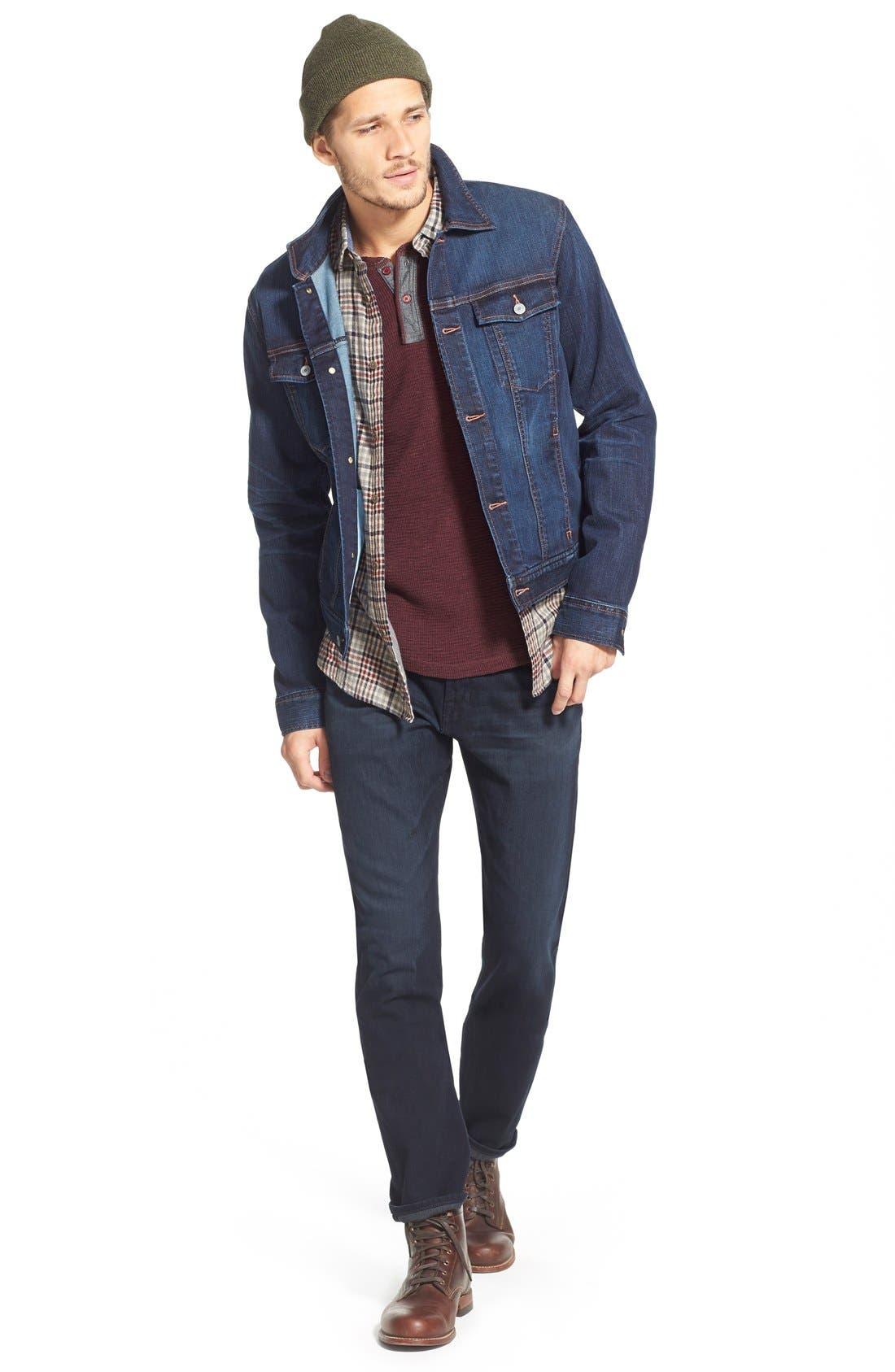 AG, Graduate Slim Straight Leg Jeans, Alternate thumbnail 5, color, BUNDLED