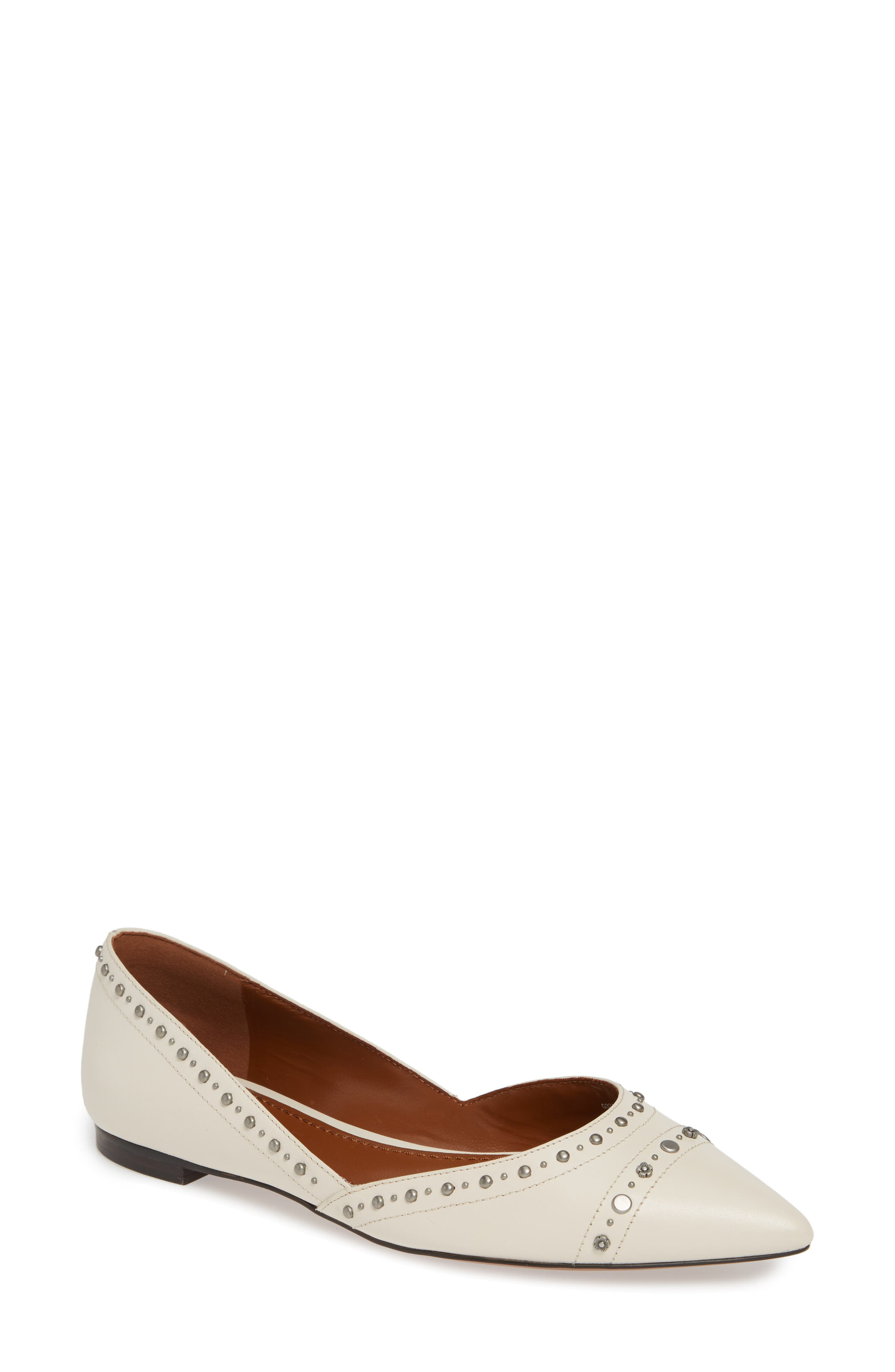 Coach Valintina Pointed Toe Flat