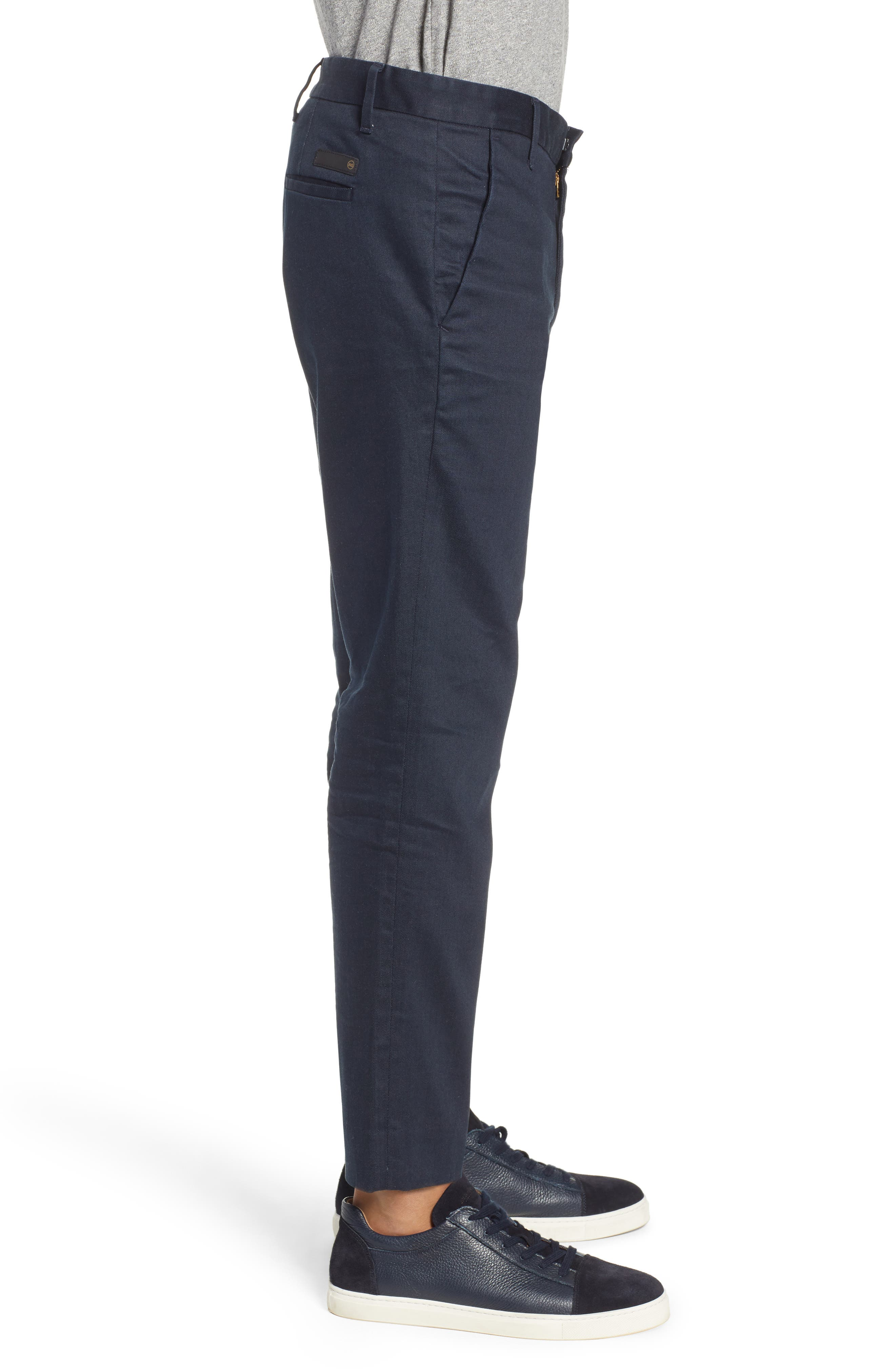 AG, Payton Slim Fit Trousers, Alternate thumbnail 4, color, 1 YEARS FELL