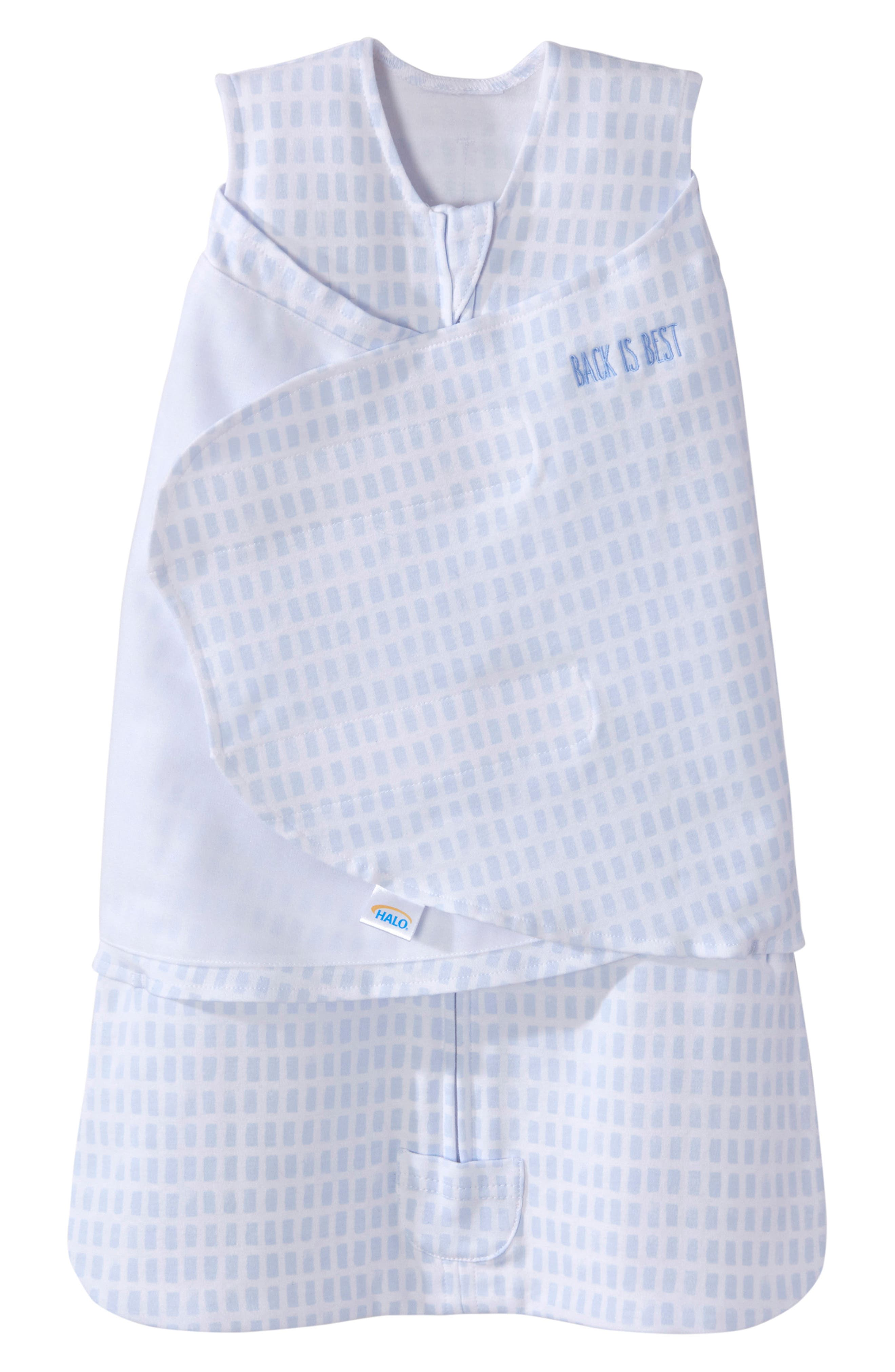 Halo Platinum Series Sleepsack(TM) Swaddle Size 03 M  Blue
