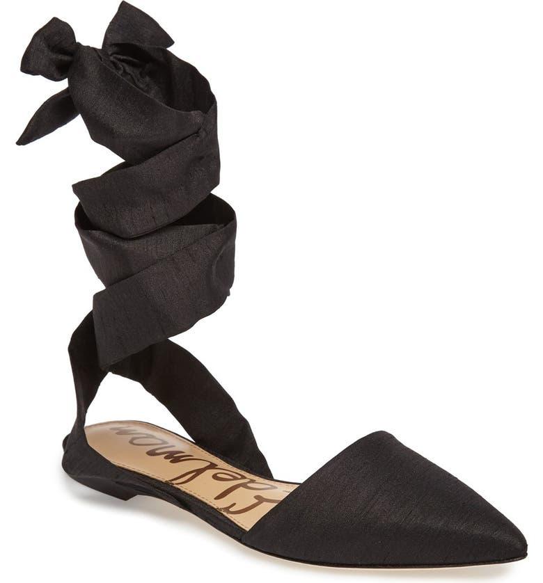 c146f24ce Sam Edelman Brandie Lace-Up Flat (Women)