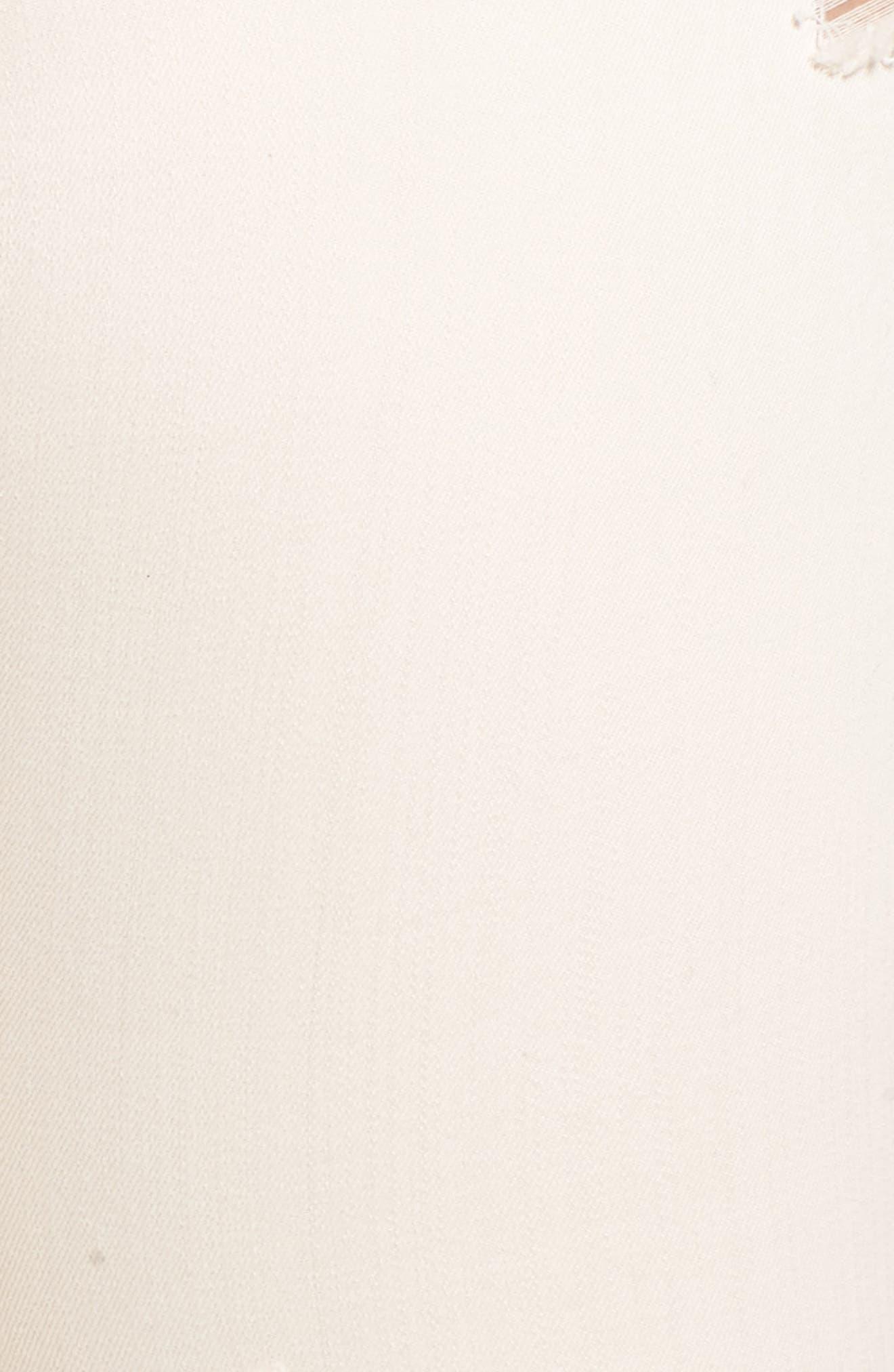 RACHEL RACHEL ROY, Icon Distressed Skinny Jeans, Alternate thumbnail 5, color, 680