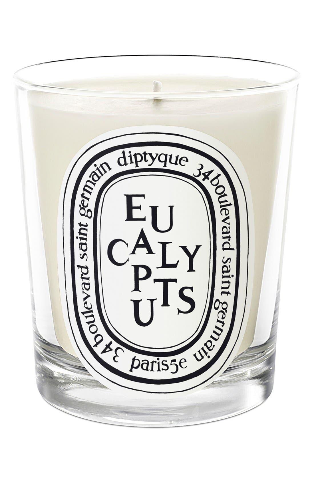 DIPTYQUE, Eucalyptus Candle, Main thumbnail 1, color, NO COLOR