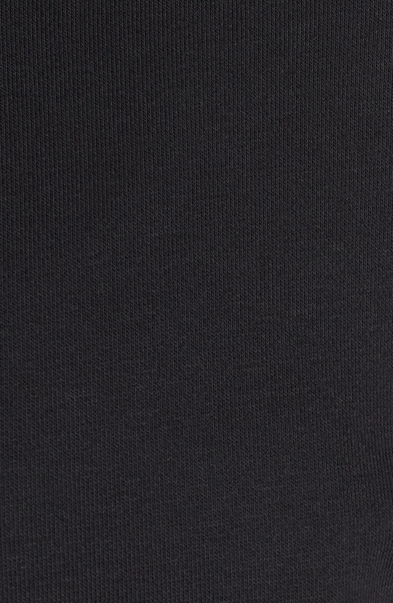 ADIDAS, MH 3S Zip Hoodie, Alternate thumbnail 7, color, BLACK
