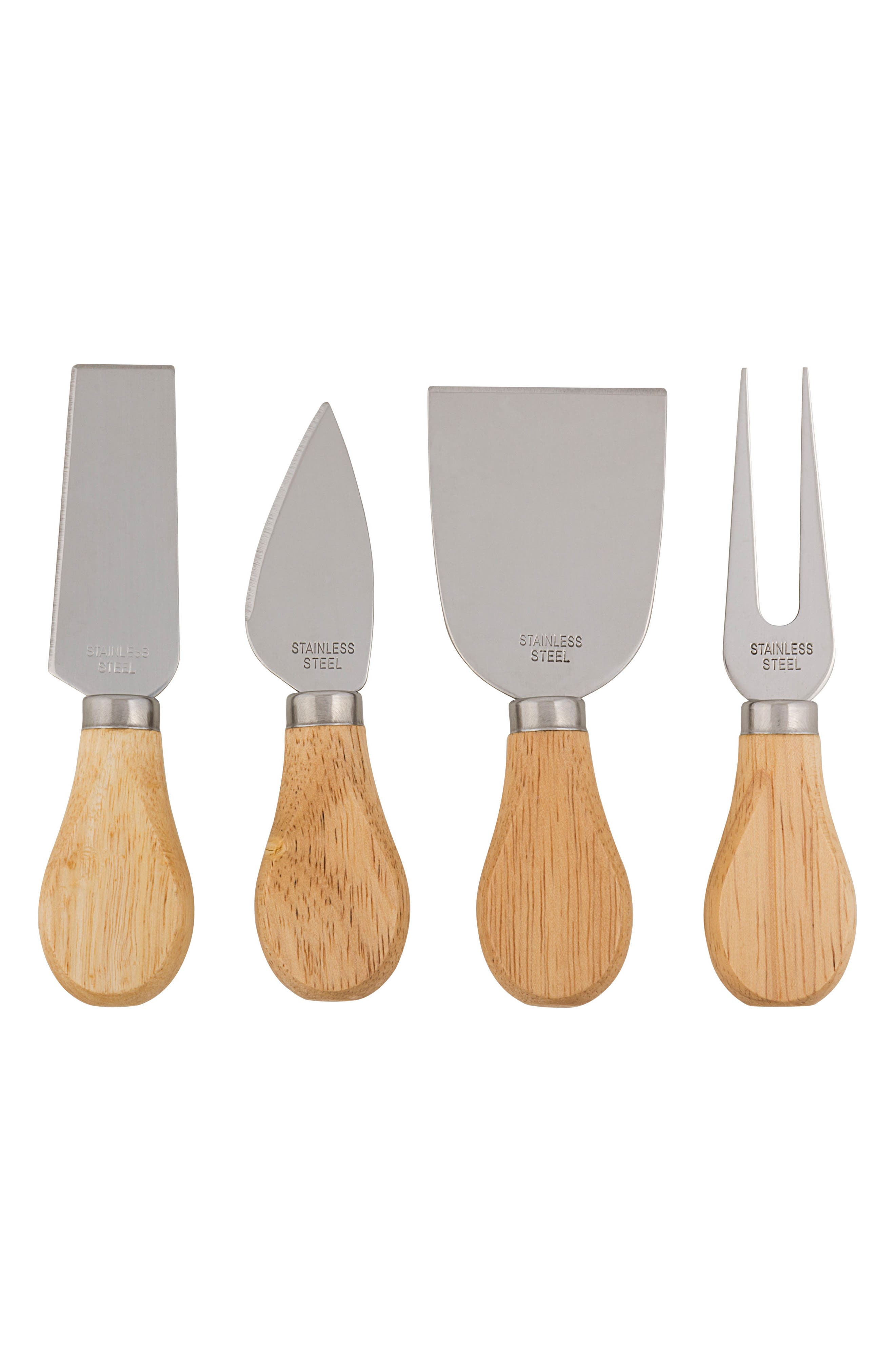 CATHY'S CONCEPTS, 5-Piece Monogram Cheese Board & Utensil Set, Alternate thumbnail 5, color, A