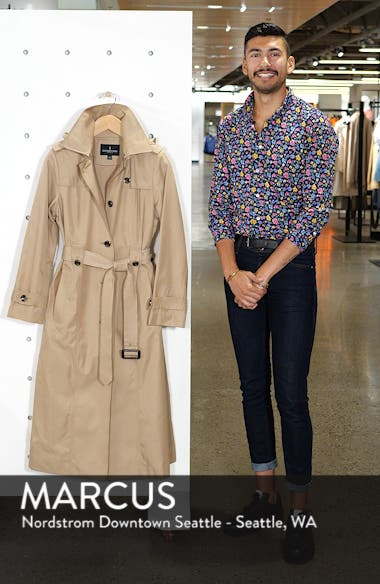 Jill Long Trench Coat, sales video thumbnail