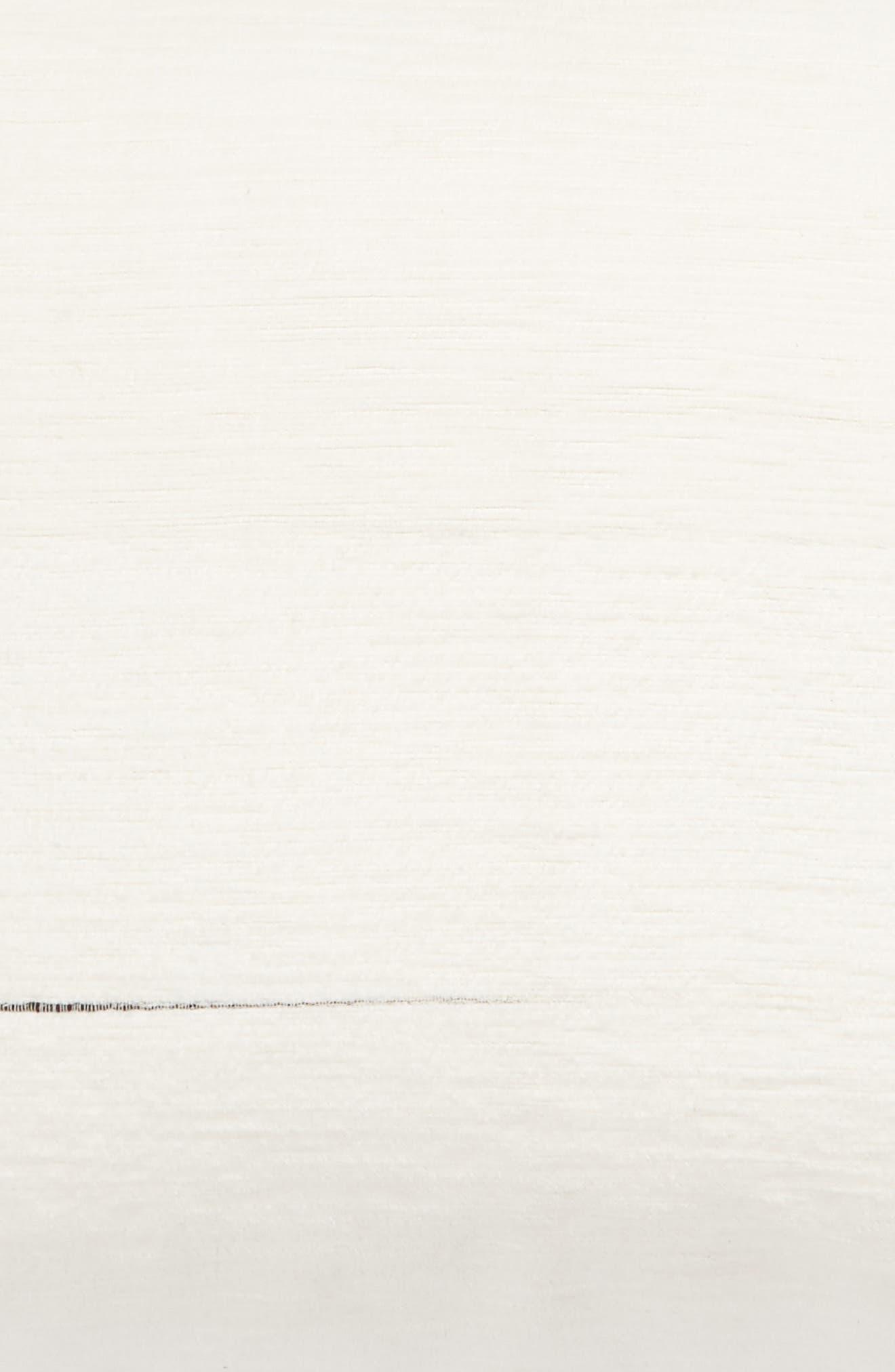 TREASURE & BOND, Space Dyed Stripe Sham, Alternate thumbnail 3, color, IVORY MULTI