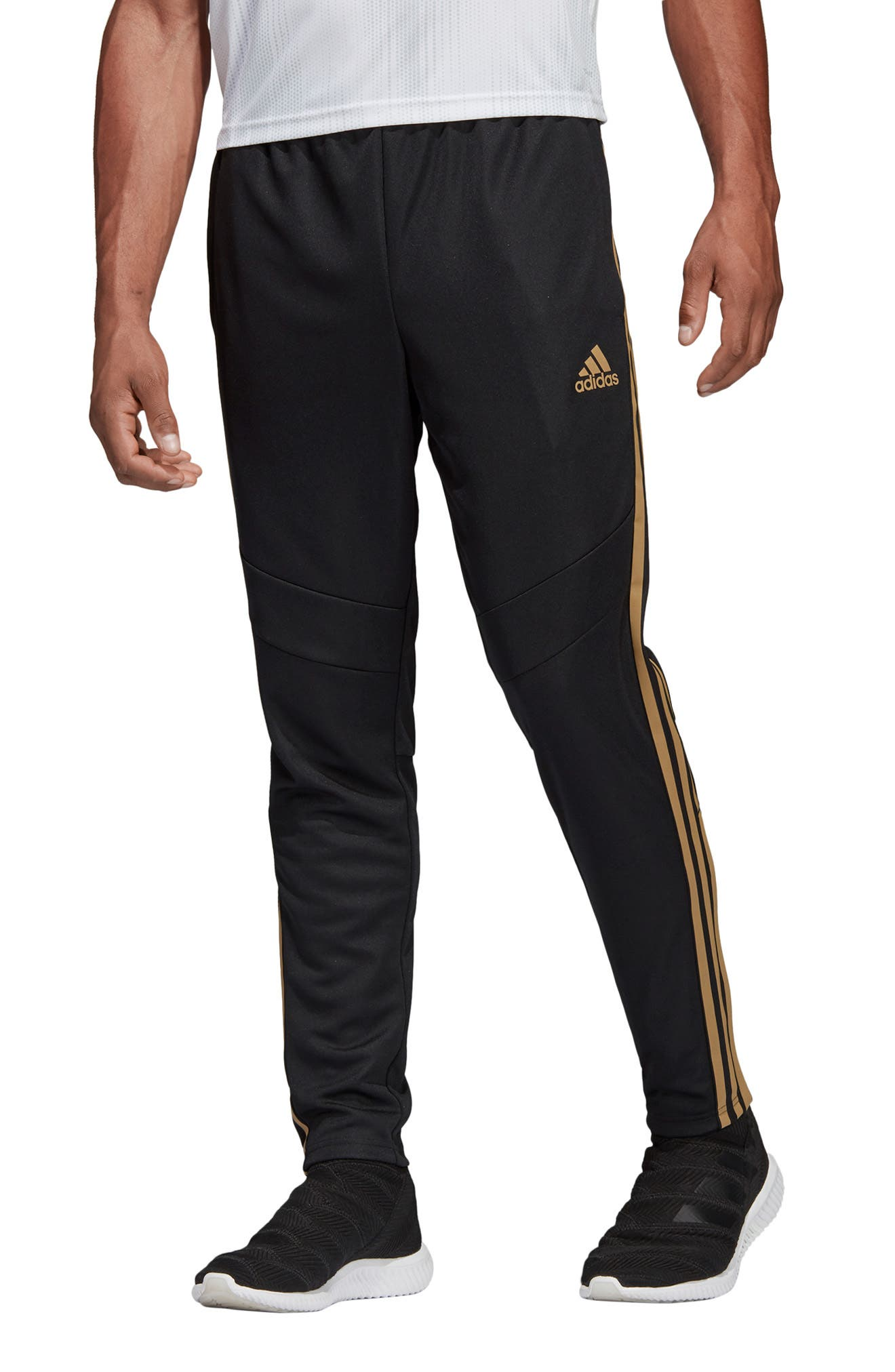ADIDAS, Tiro 19 Training Pants, Main thumbnail 1, color, BLACK/ GOLD