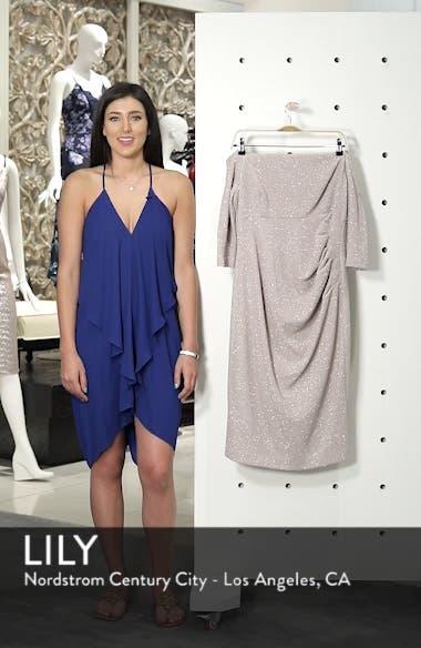 Off the Shoulder Sheath Dress, sales video thumbnail
