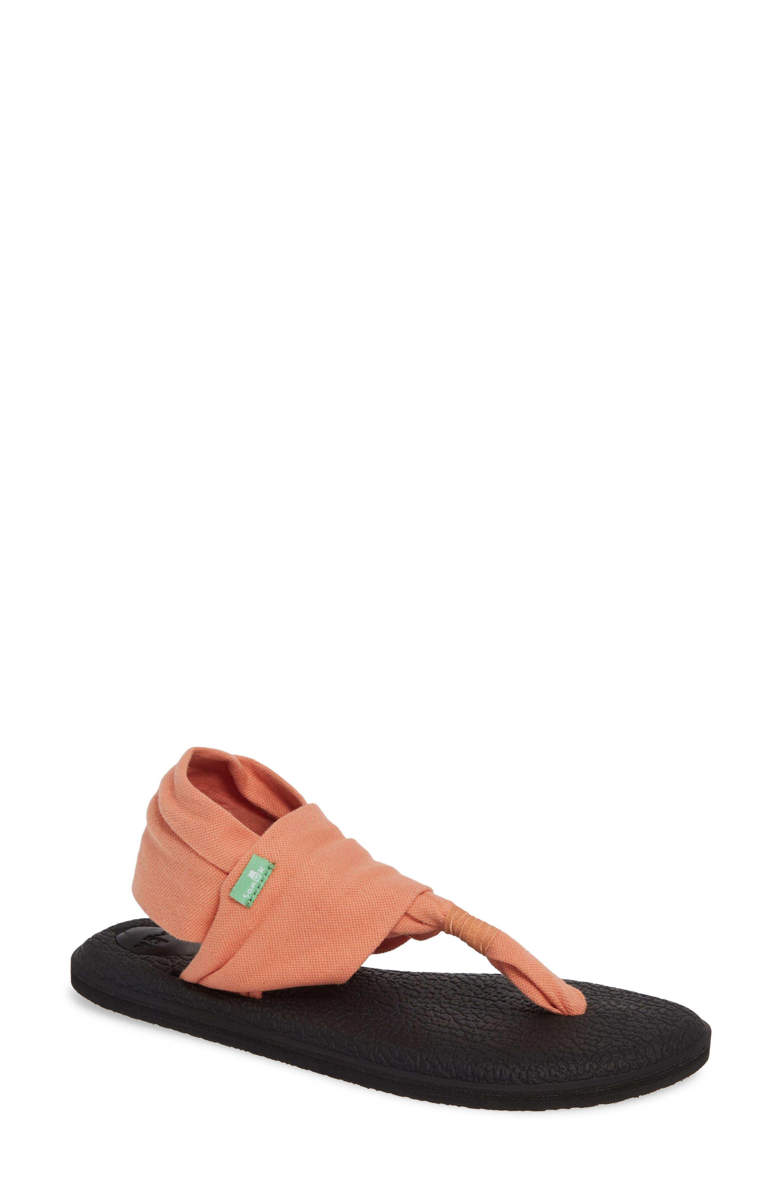 SANUK, 'Yoga Sling 2' Sandal, Main thumbnail 1, color, CARNELIAN