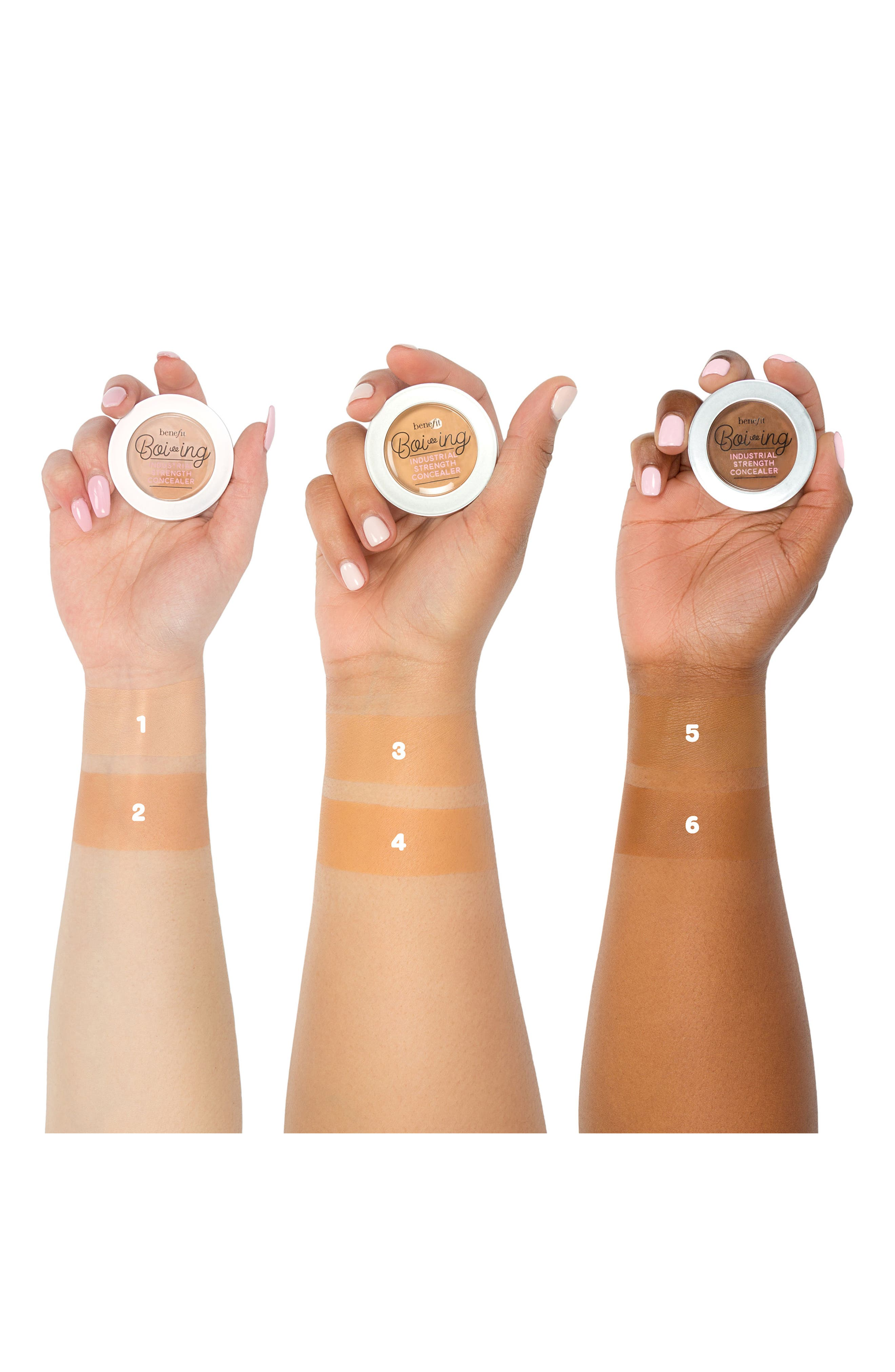 BENEFIT COSMETICS, Benefit Boi-ing Industrial Strength Concealer, Alternate thumbnail 5, color, 01 - LIGHT