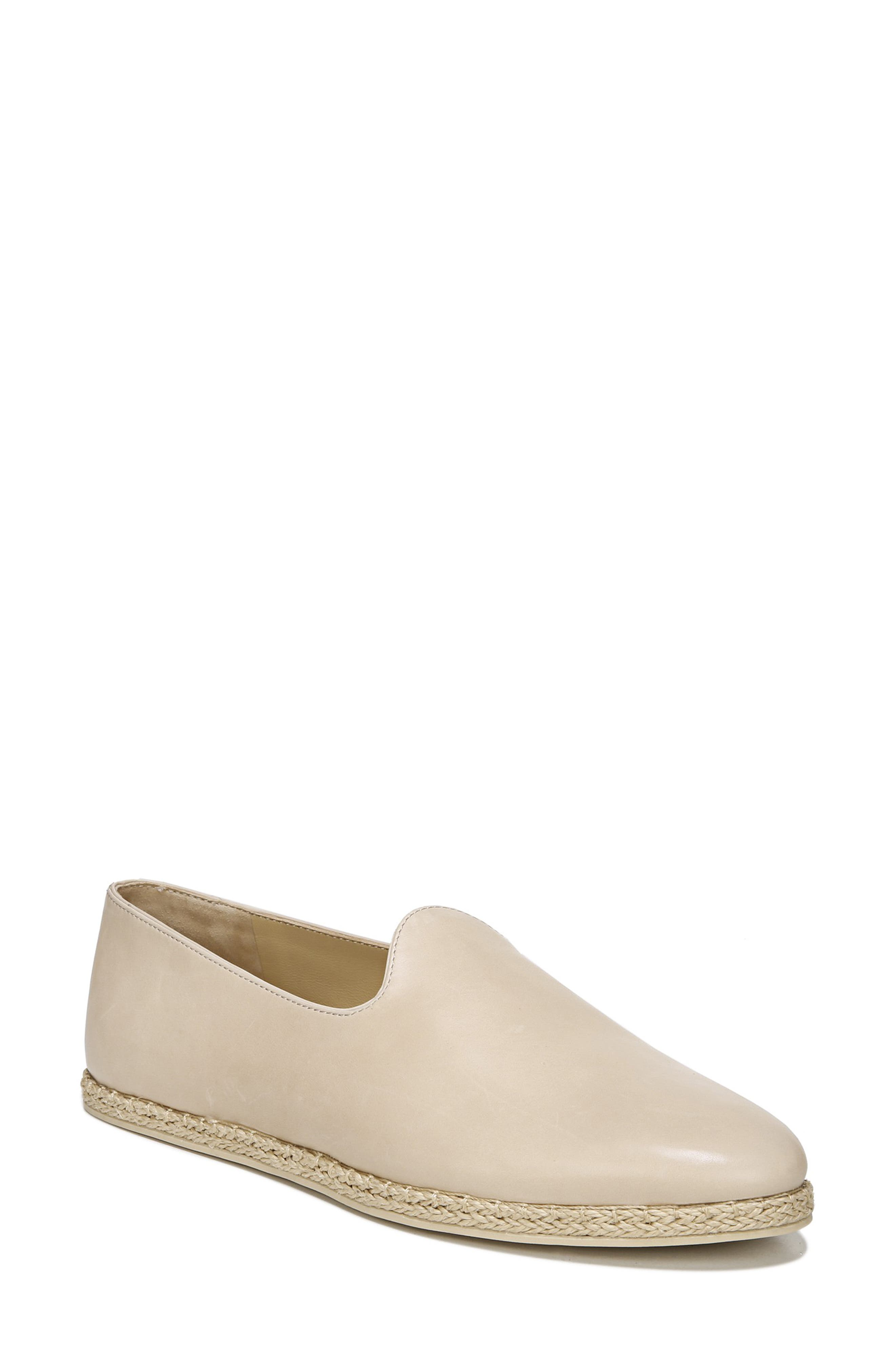 VINCE, Malia Loafer Flat, Main thumbnail 1, color, SAND EMBER LEATHER