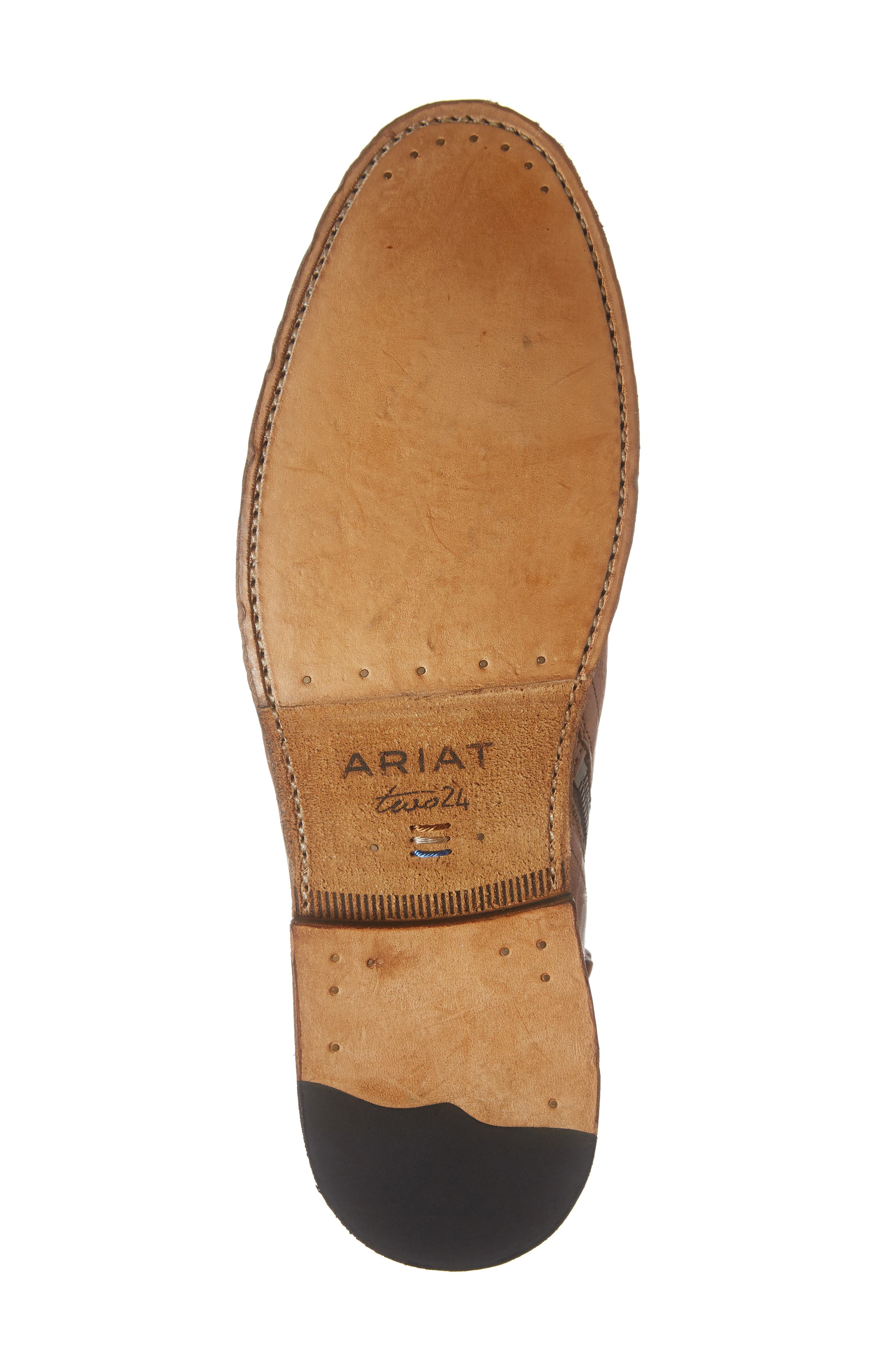 TWO24, by Ariat Lockwood Zip Boot, Alternate thumbnail 6, color, COGNAC LEATHER