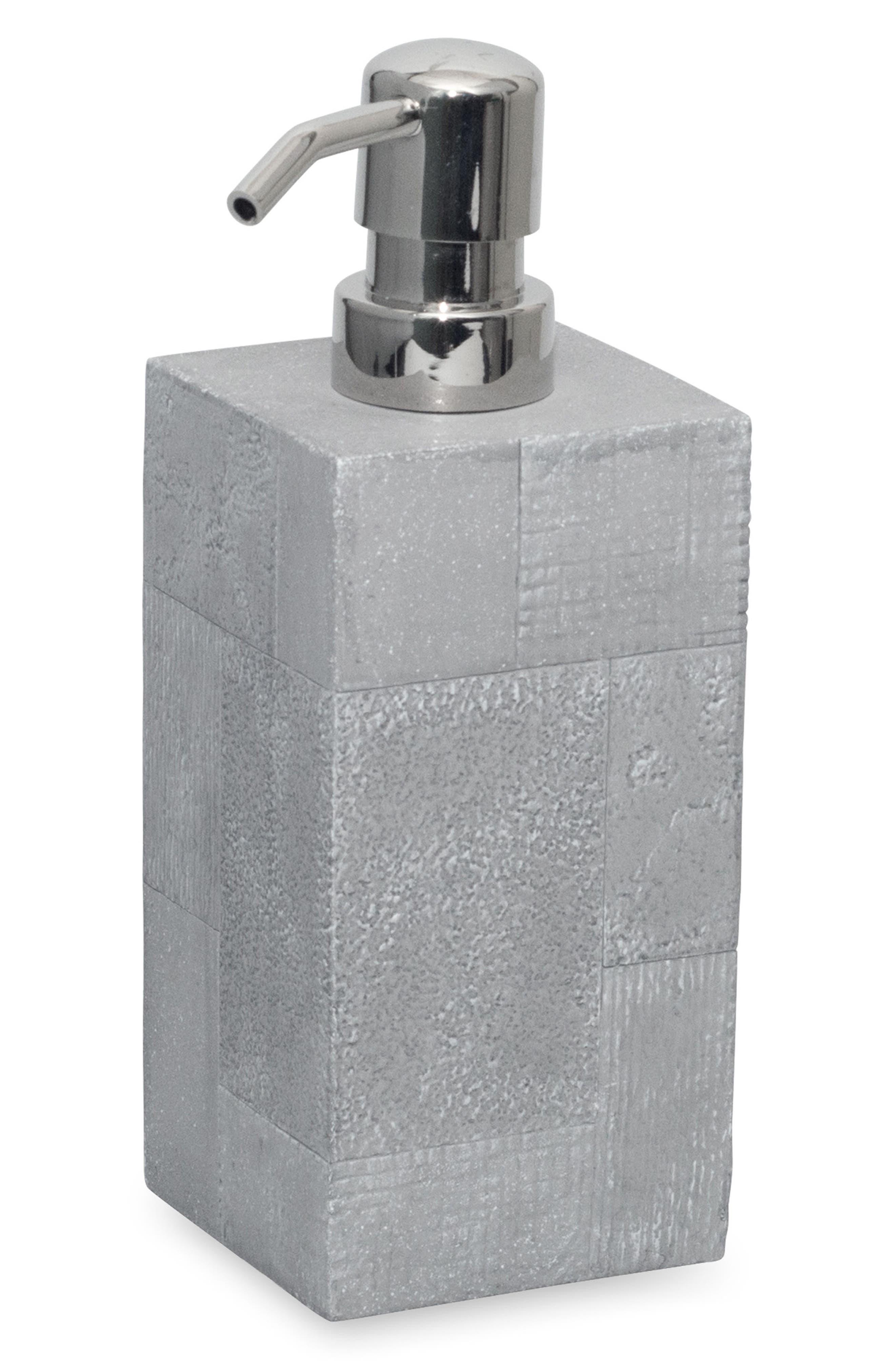 DKNY Cornerstone Lotion Pump, Main, color, GREY