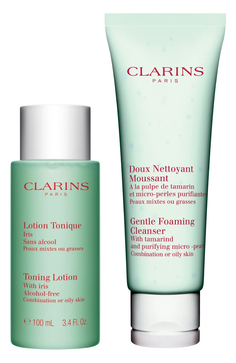 Clarins CLEANSING ESSENTIALS FOR OILY TO COMBINATION SKIN
