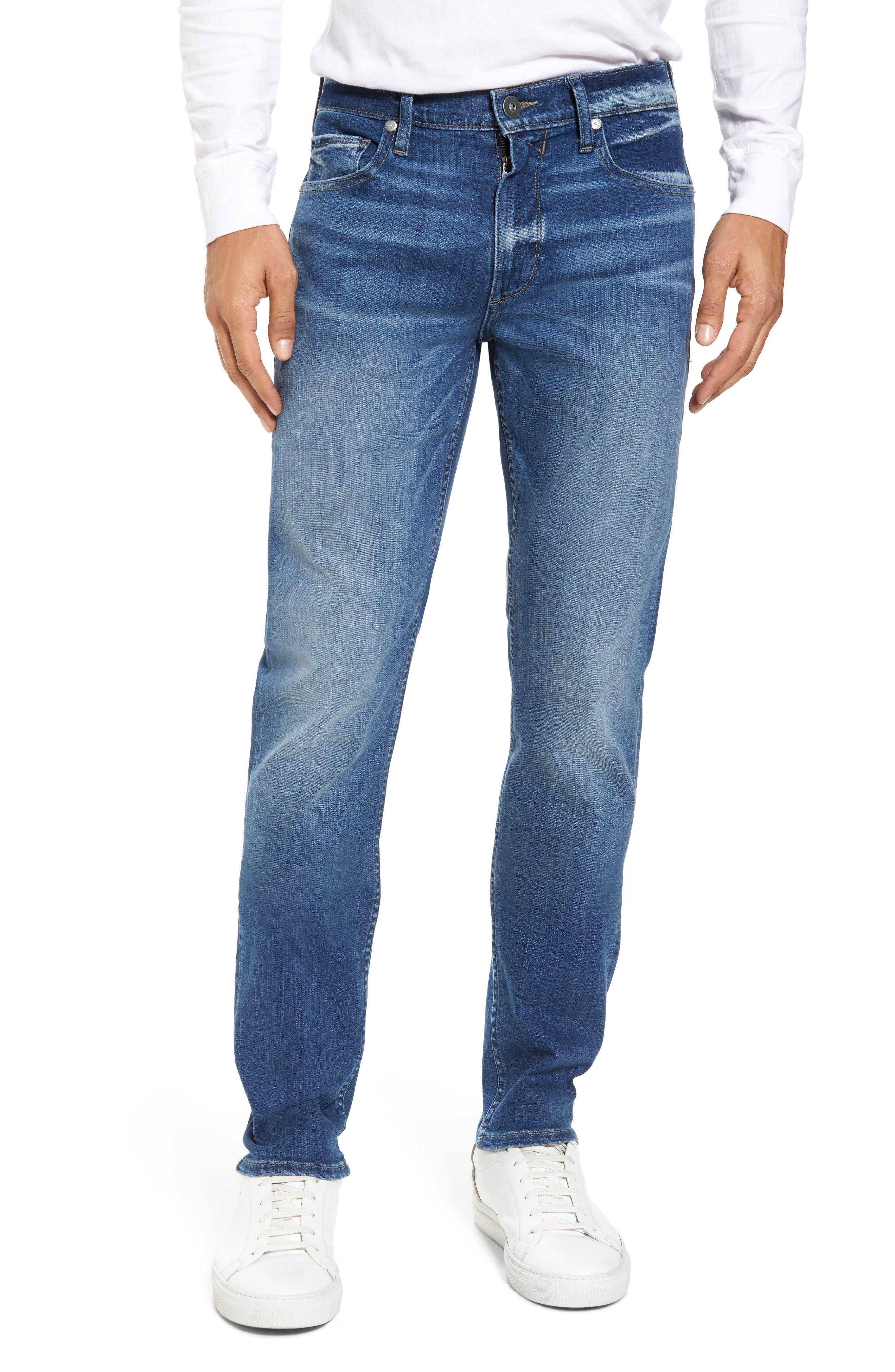 PAIGE, Transcend - Lennox Slim Fit Jeans, Main thumbnail 1, color, MULHOLLAND