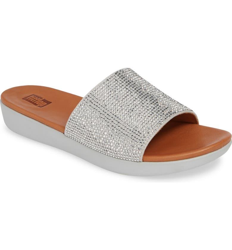 b3615efa7ad FitFlop Sola Crystal Embellished Slide Sandal (Women)