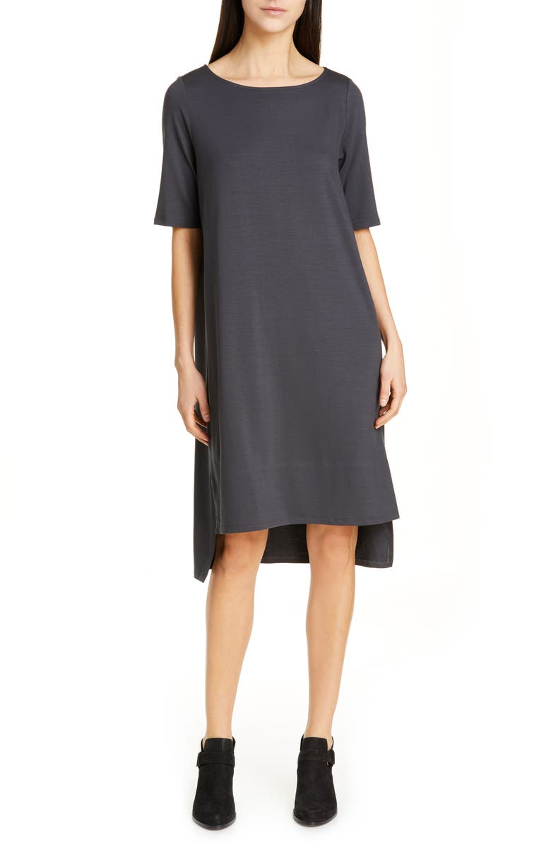 Eileen Fisher Dresses HIGH/LOW SHIFT DRESS