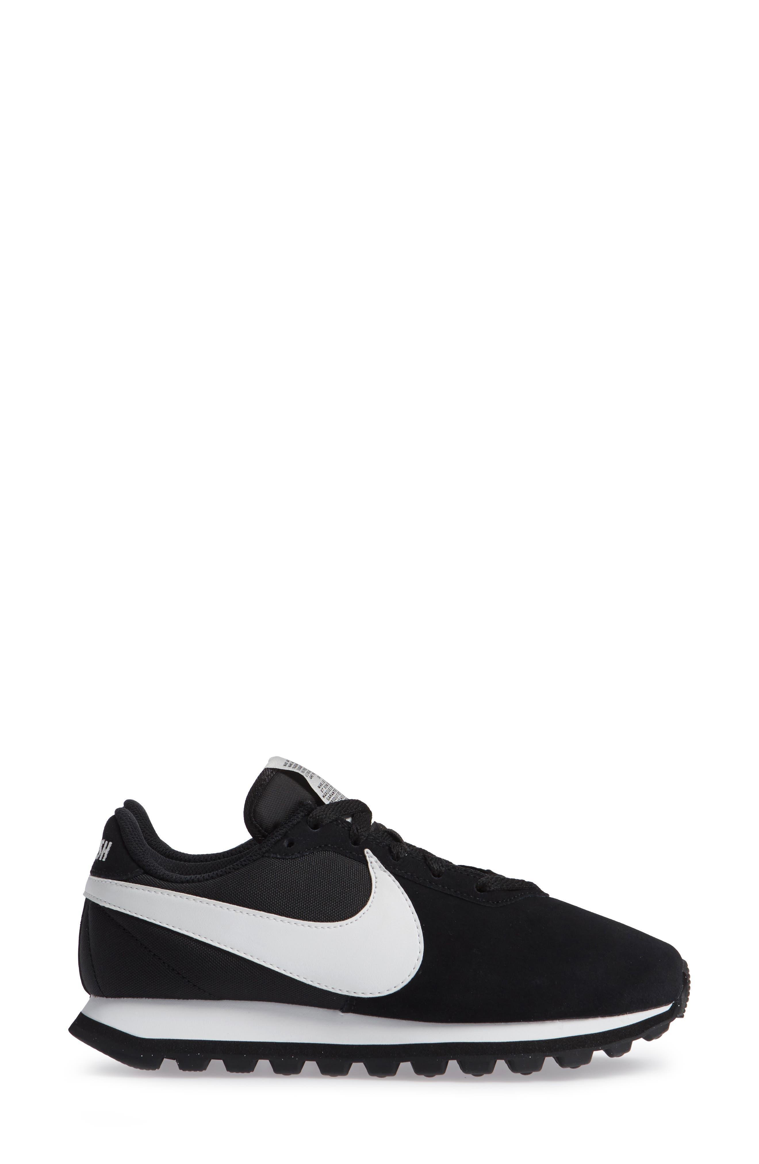 NIKE, Pre Love O.X. Sneaker, Alternate thumbnail 4, color, BLACK/ SUMMIT WHITE