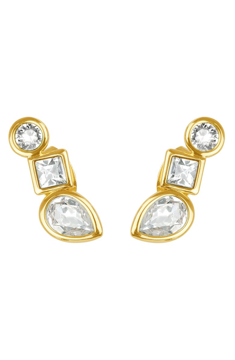 Adore Accessories MIXED CRYSTAL EARRINGS